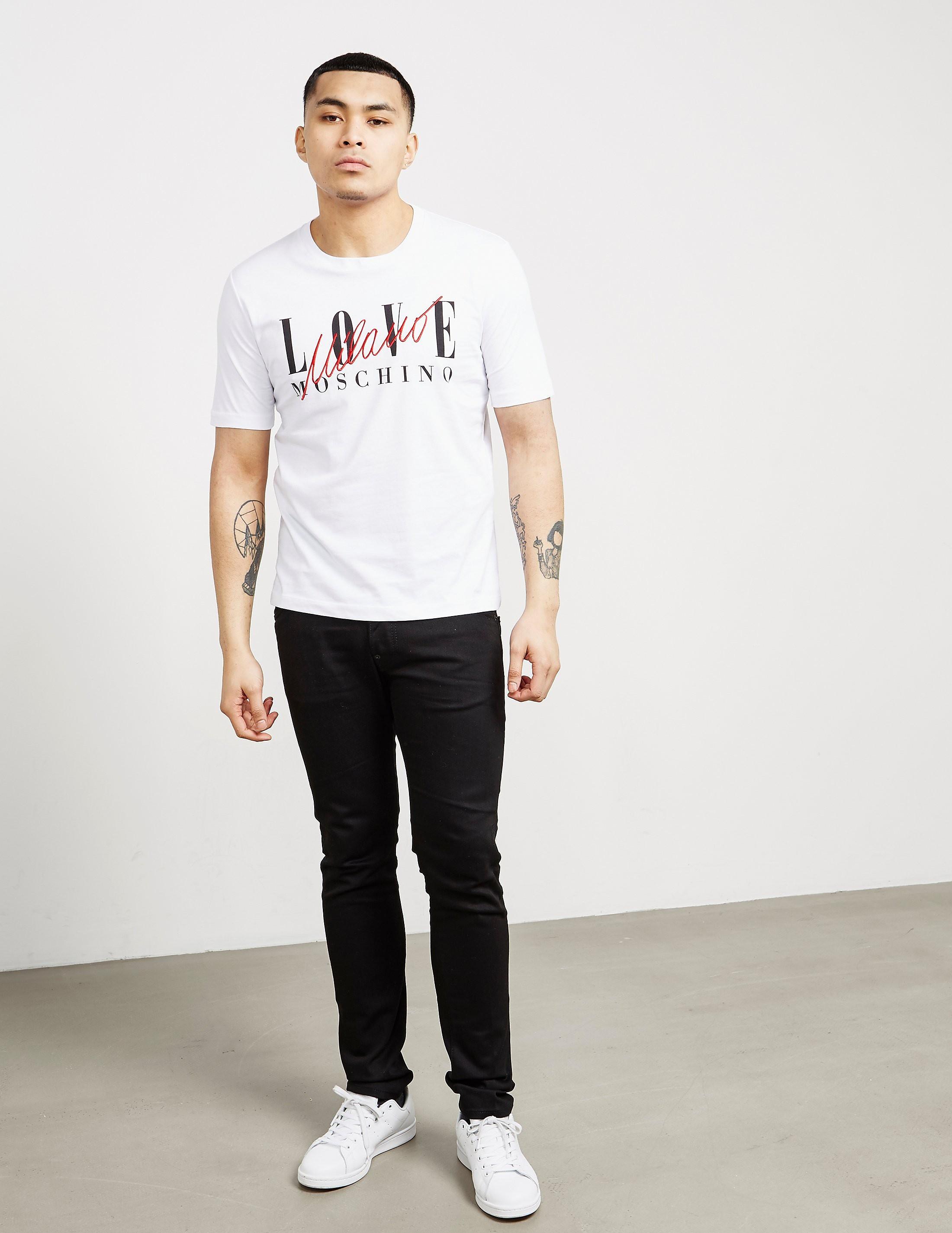 Love Moschino Milano Short Sleeve T-Shirt