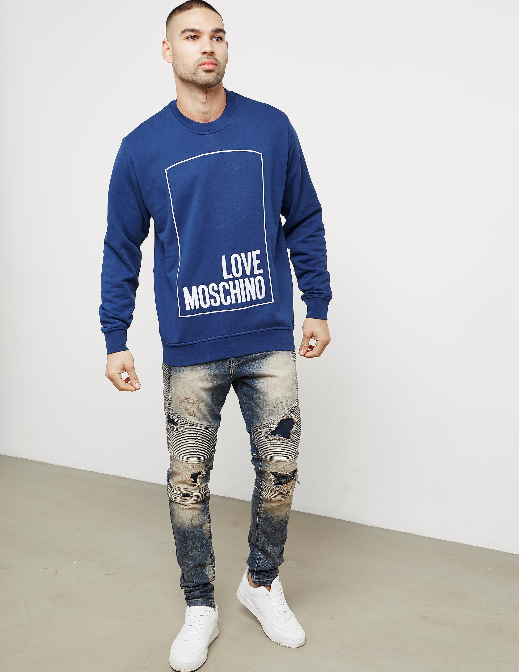 Love Moschino LovMos Box Sweatshirt