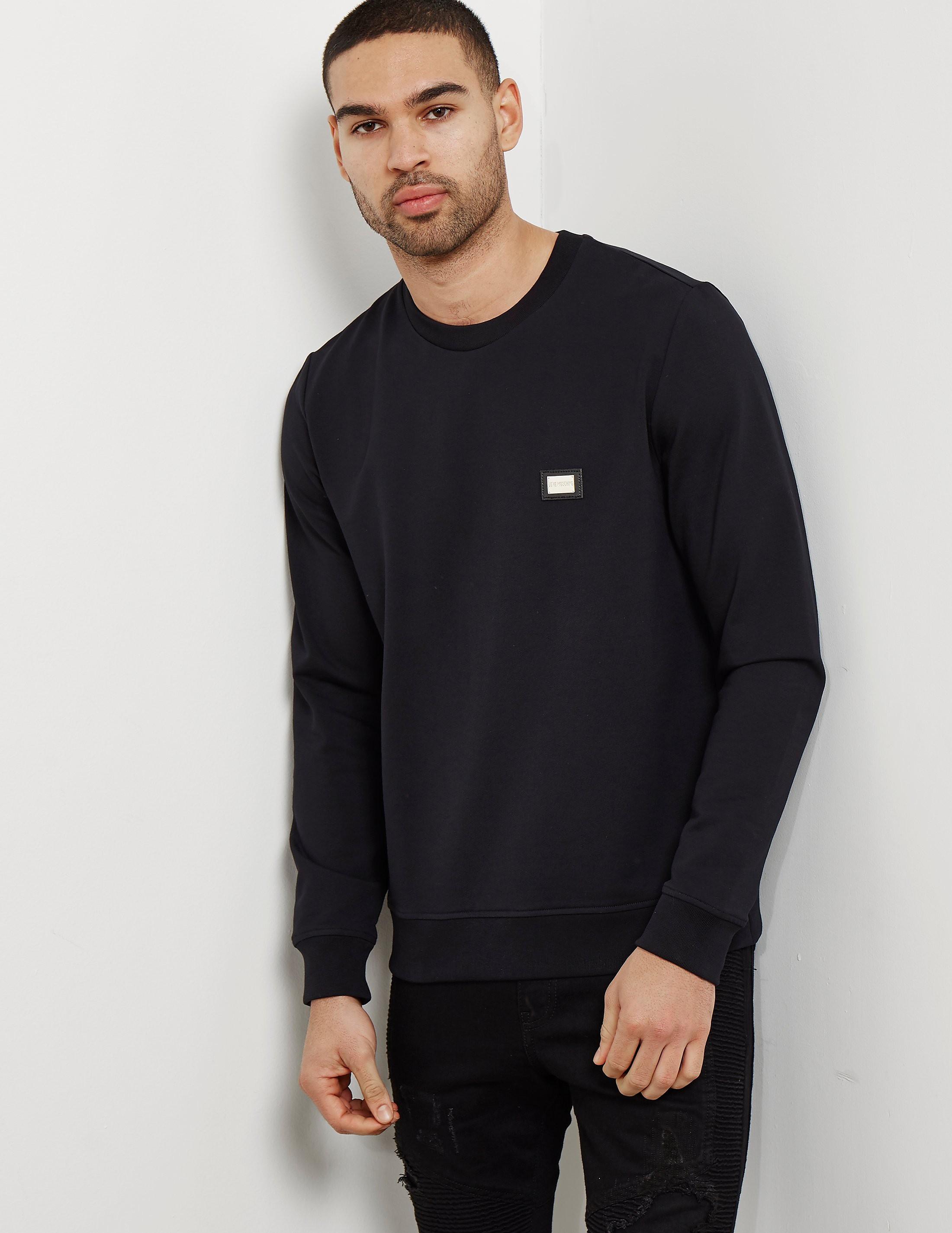 Love Moschino Plaque Sweatshirt
