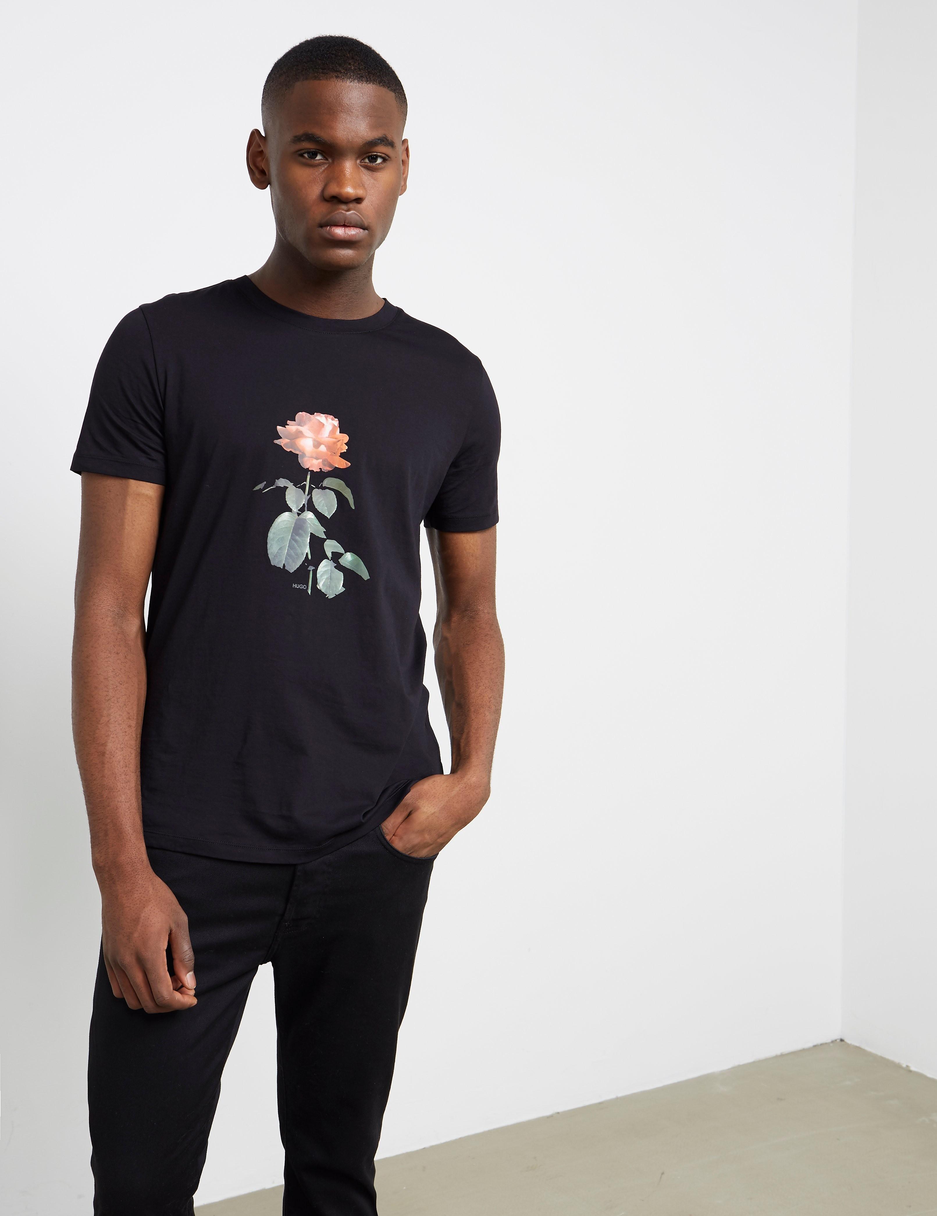 HUGO Rose Short Sleeve T-Shirt