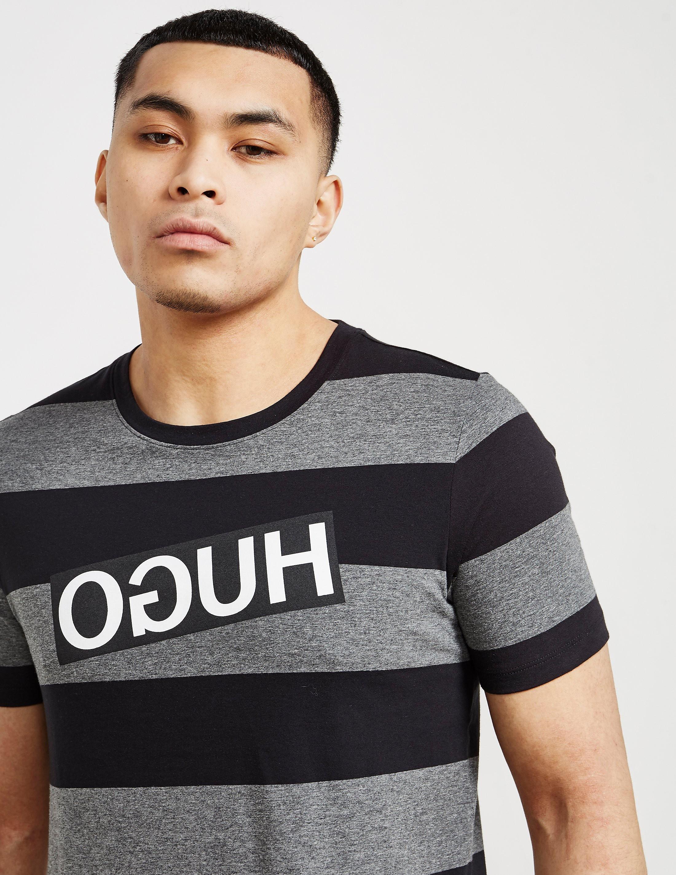 HUGO Dripes Short Sleeve T-Shirt