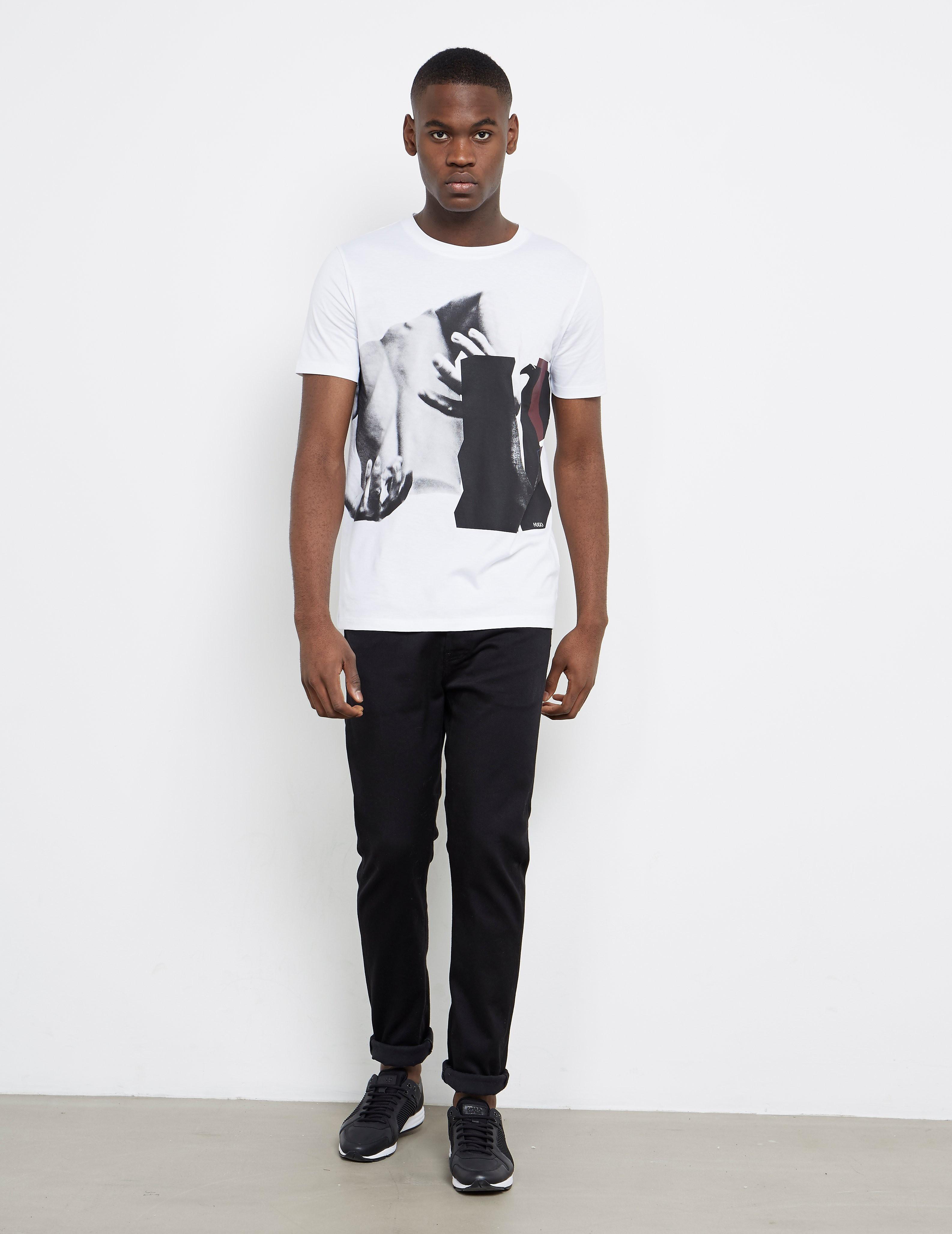 HUGO Dack Short Sleeve T-Shirt