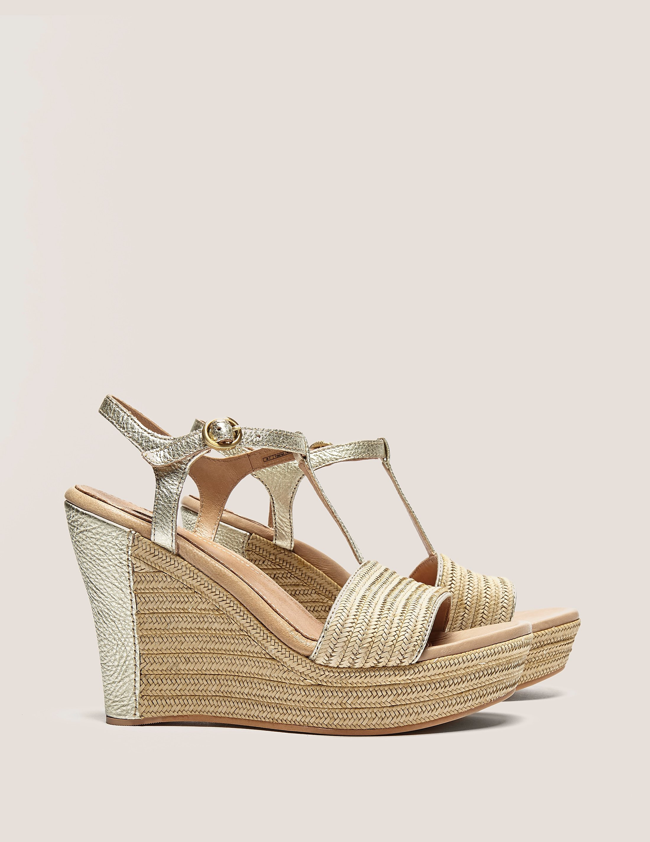 UGG Fitchie Metallic Sandals