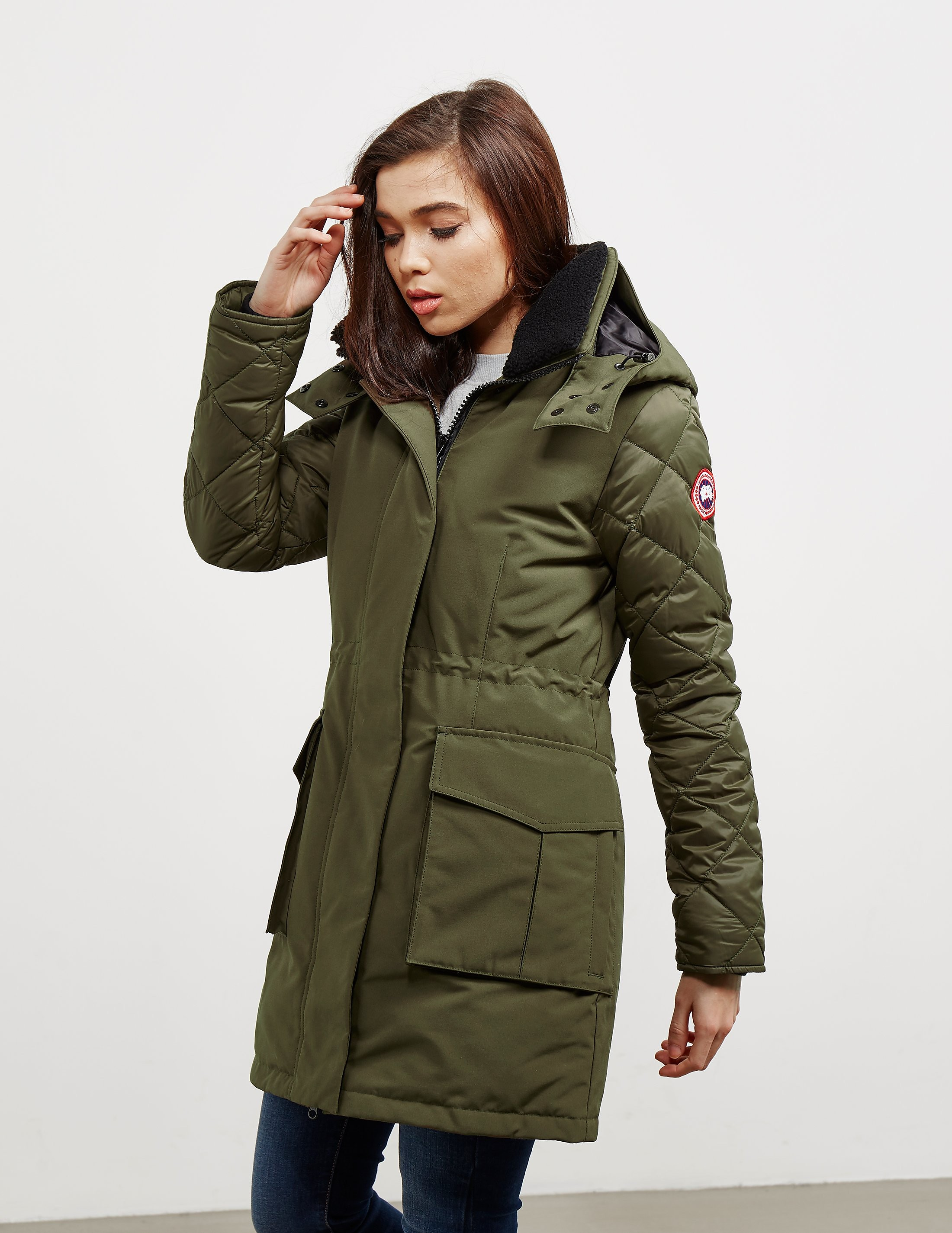 Canada Goose Elwin Padded Parka Jacket - Online Exclusive