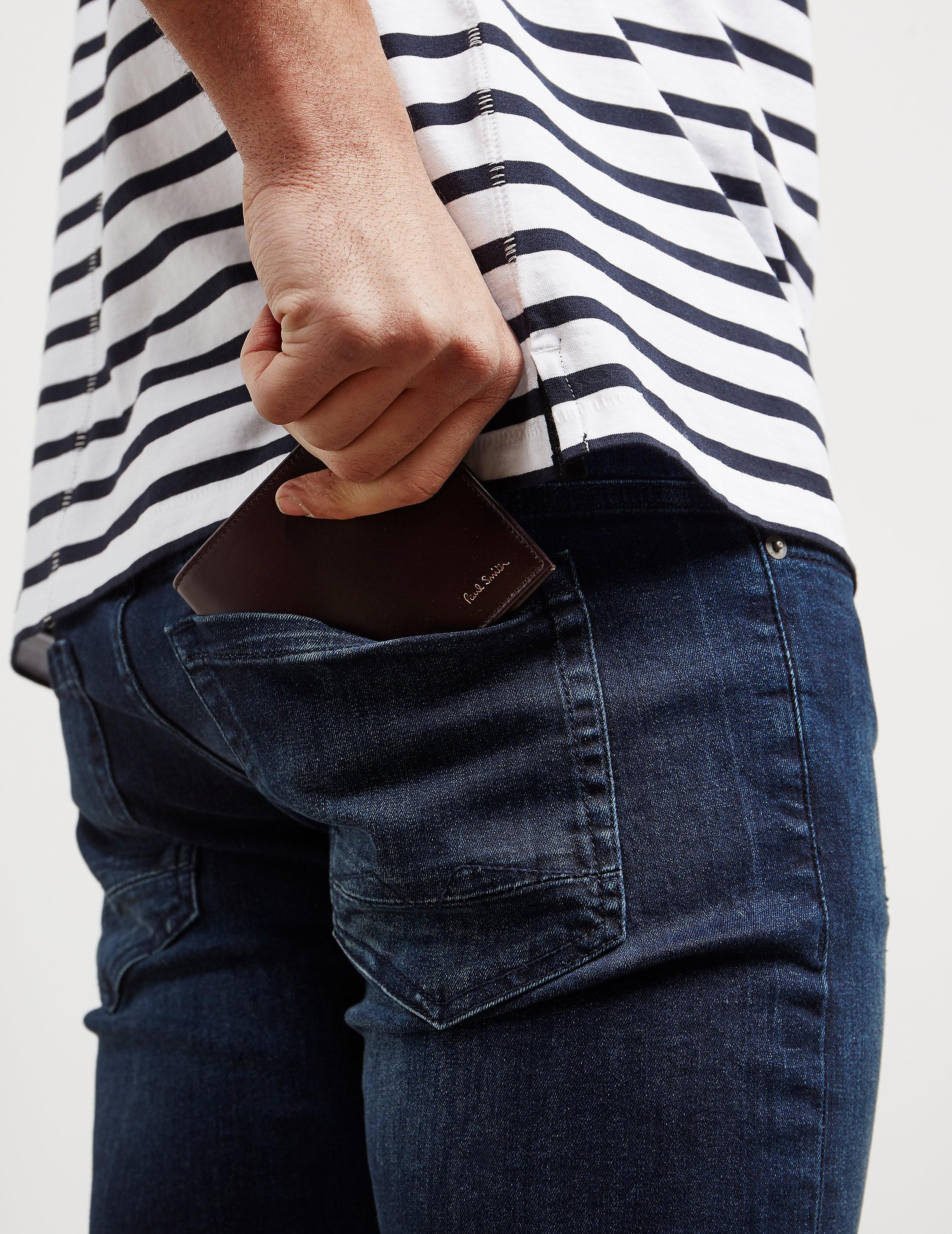 PS Paul Smith Close Stripe Wallet