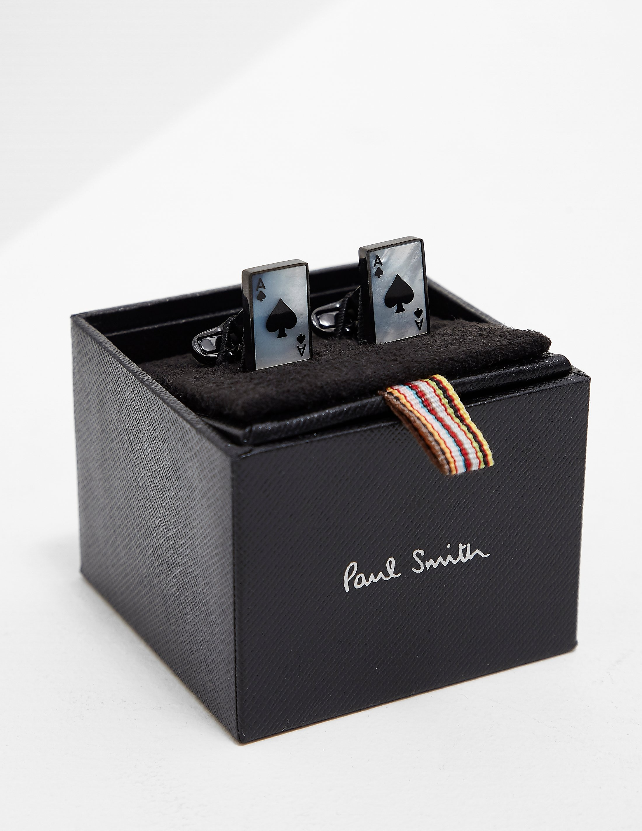 PS Paul Smith Ace of Spades Cufflinks