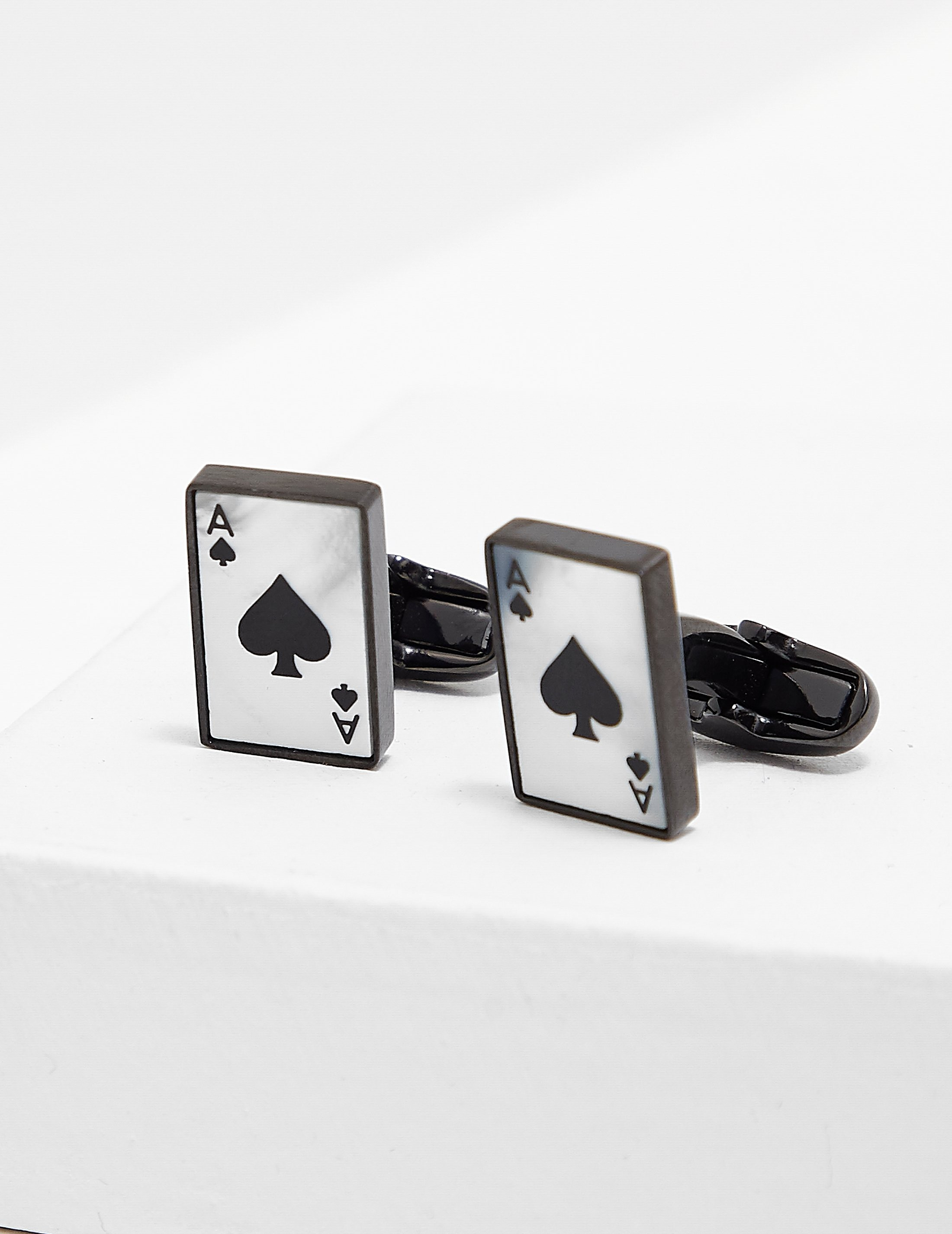 Paul Smith Ace of Spades Cufflinks