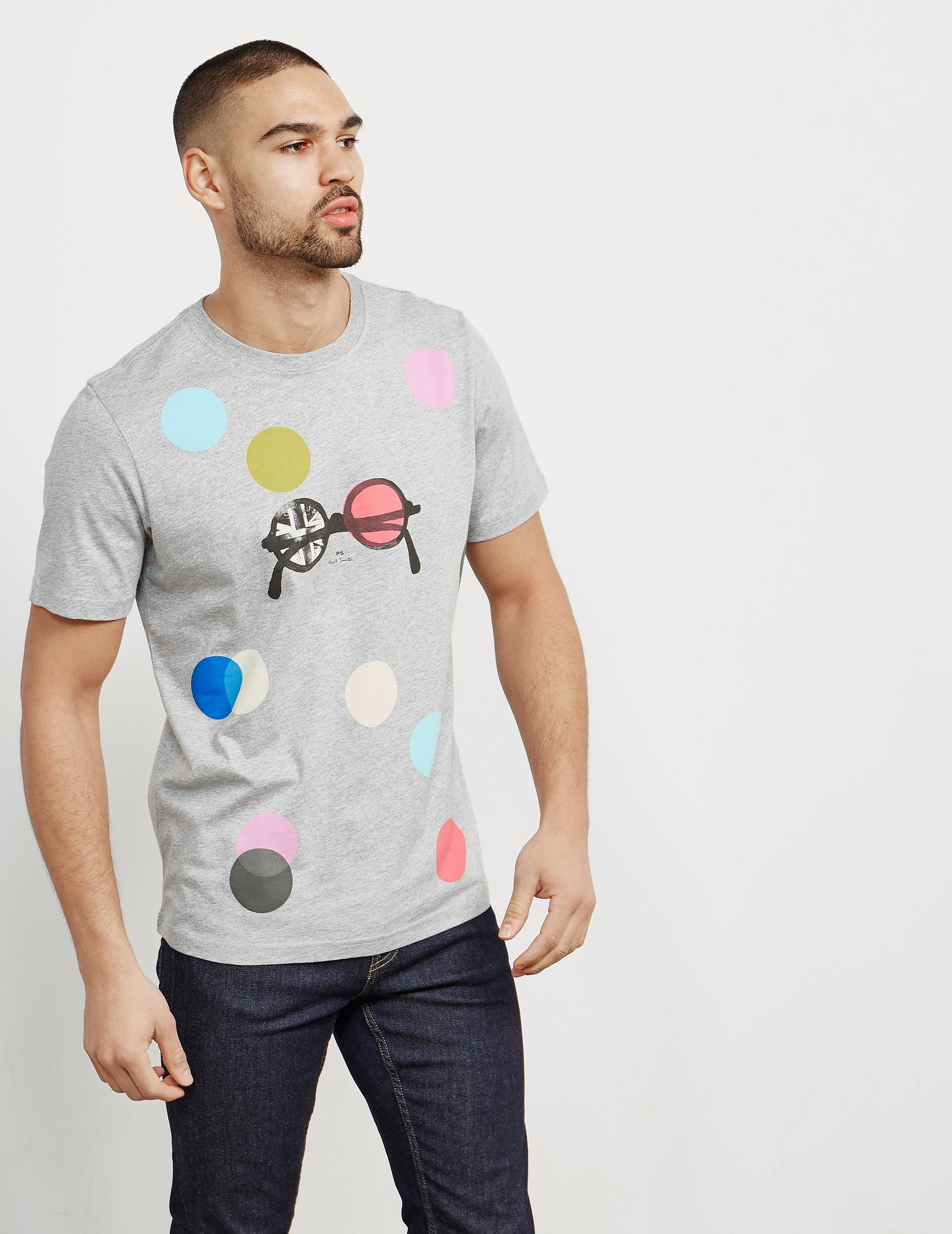 PS Paul Smith Spot and Specs Short Sleeve T-Shirt