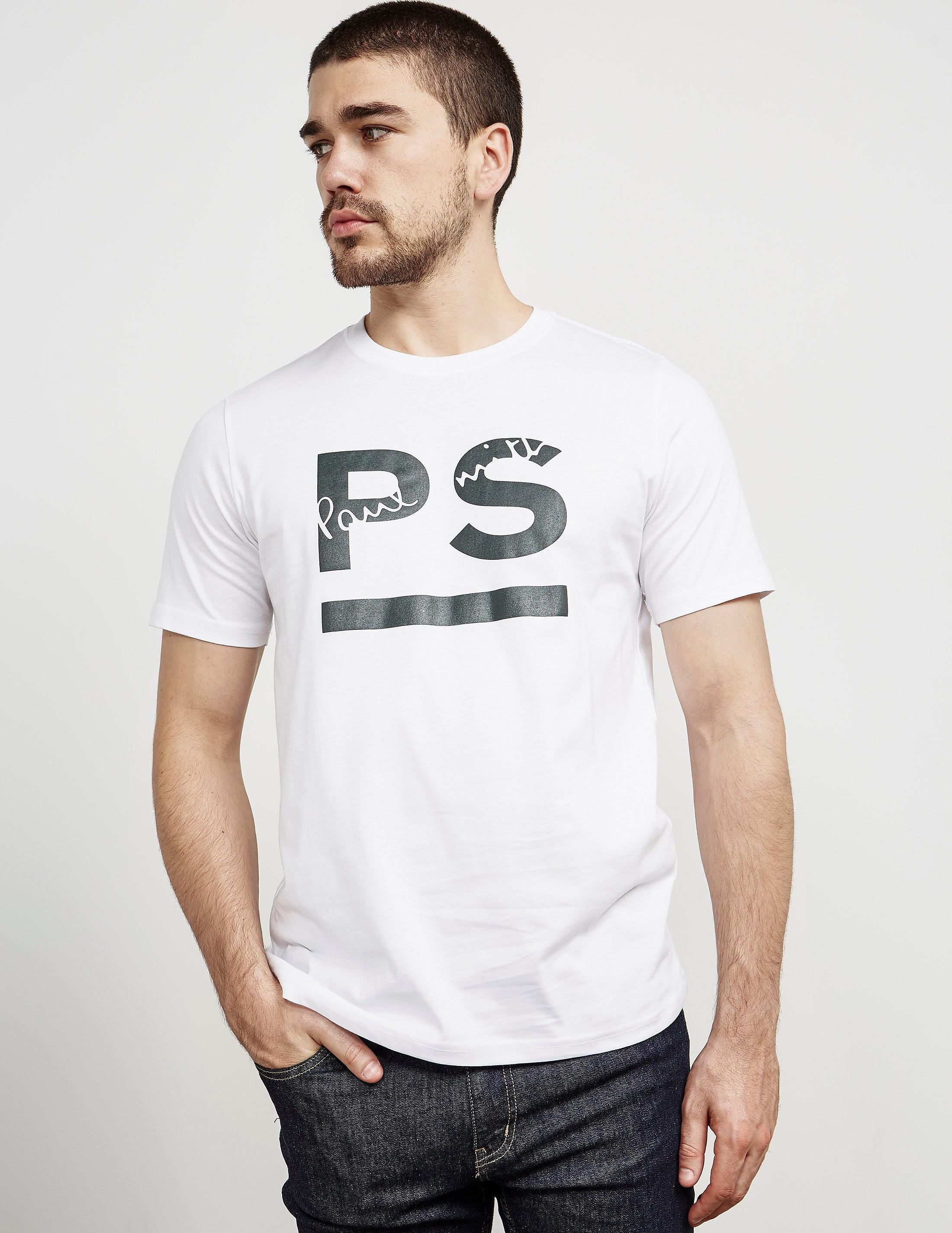 Paul Smith Underline Short Sleeve T-Shirt
