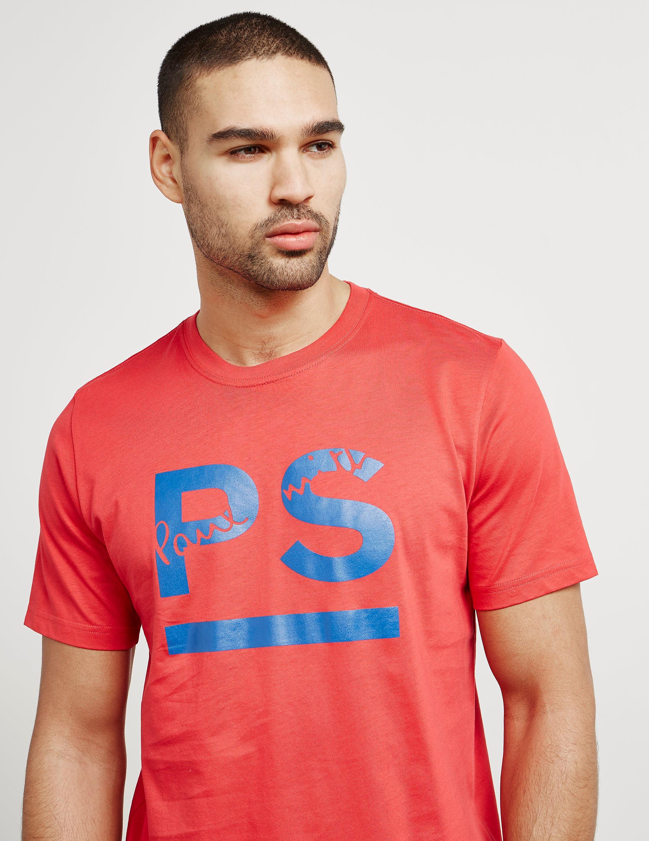 PS Paul Smith Underline Short Sleeve T-Shirt