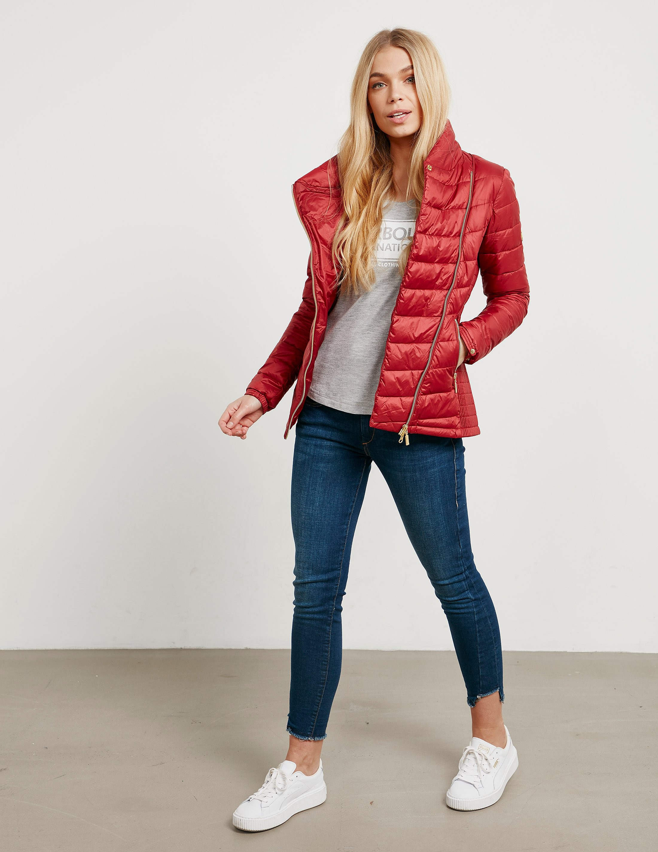 Barbour International Jurby Quilted Jacket