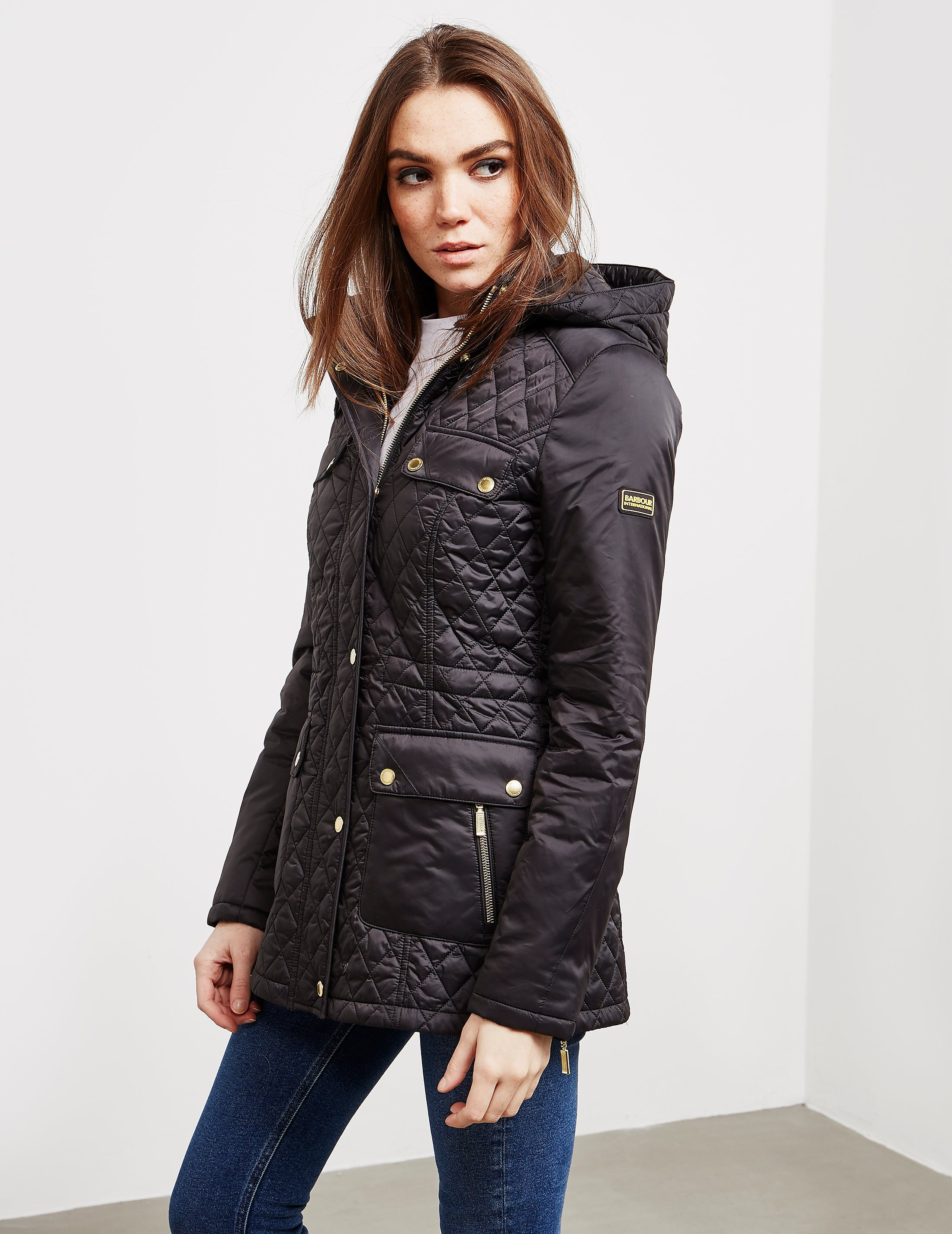 Barbour International Penhal Quilted Jacket