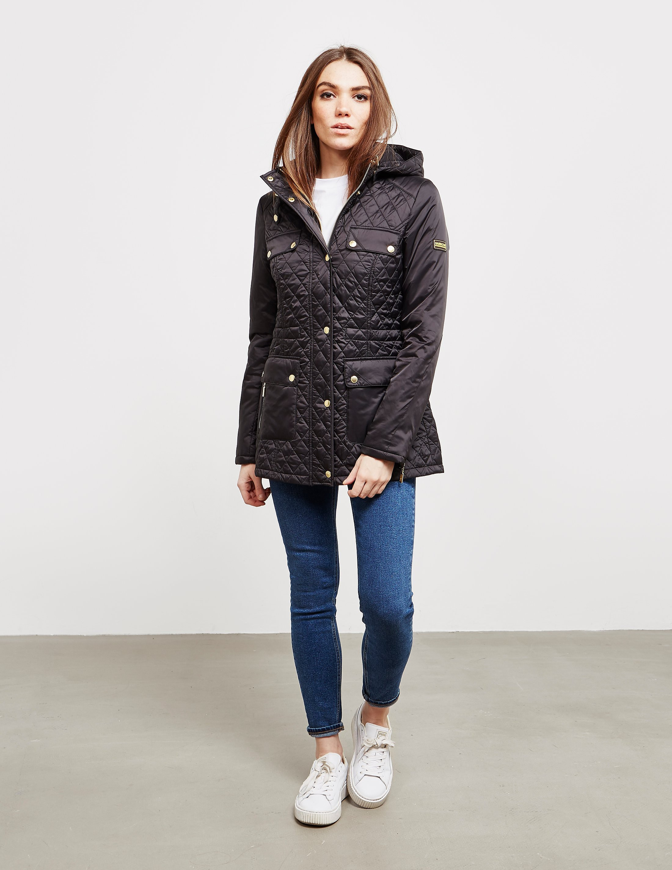 Barbour International Penhal Quilted Jacket