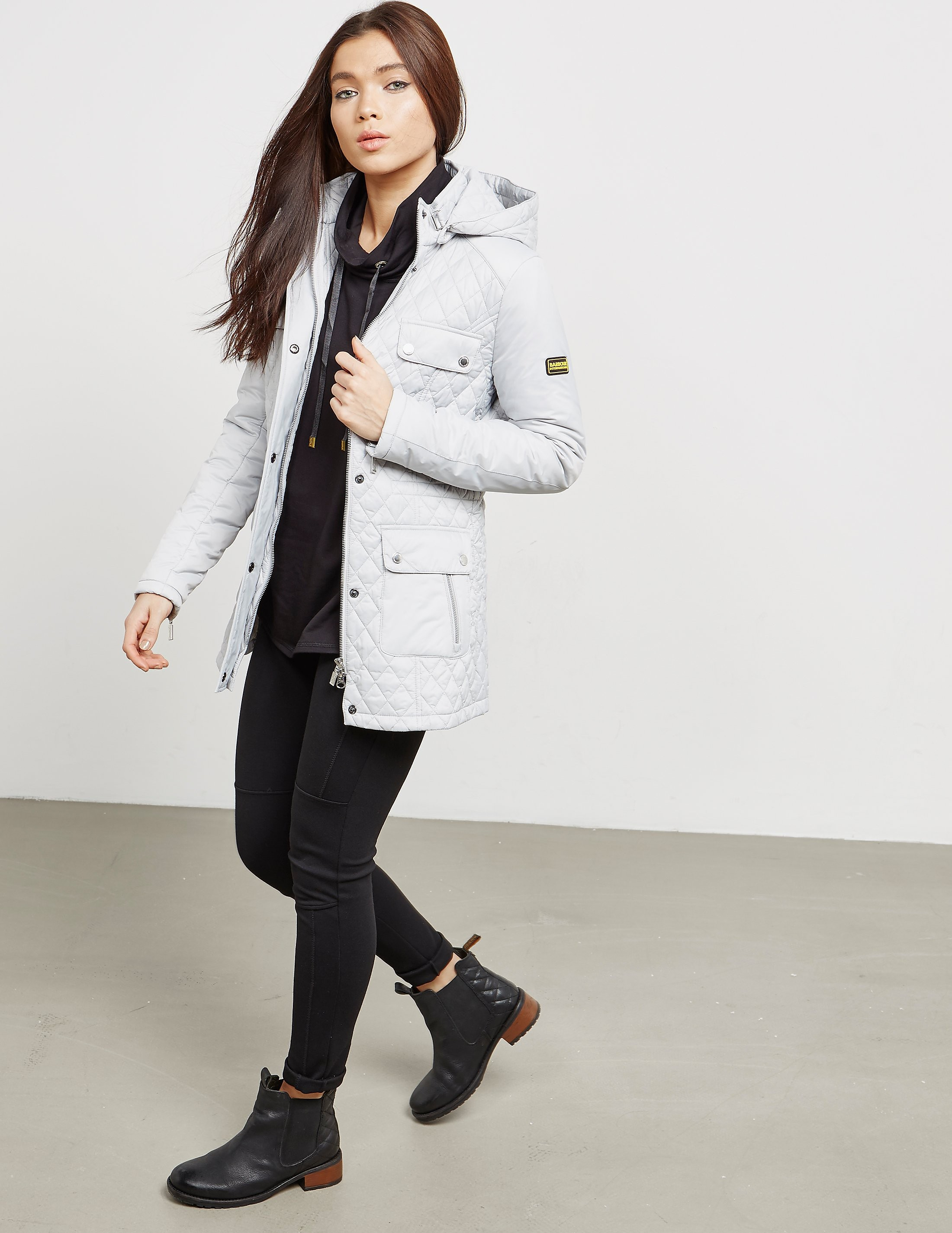 Barbour International Penhal Padded Quilted Jacket