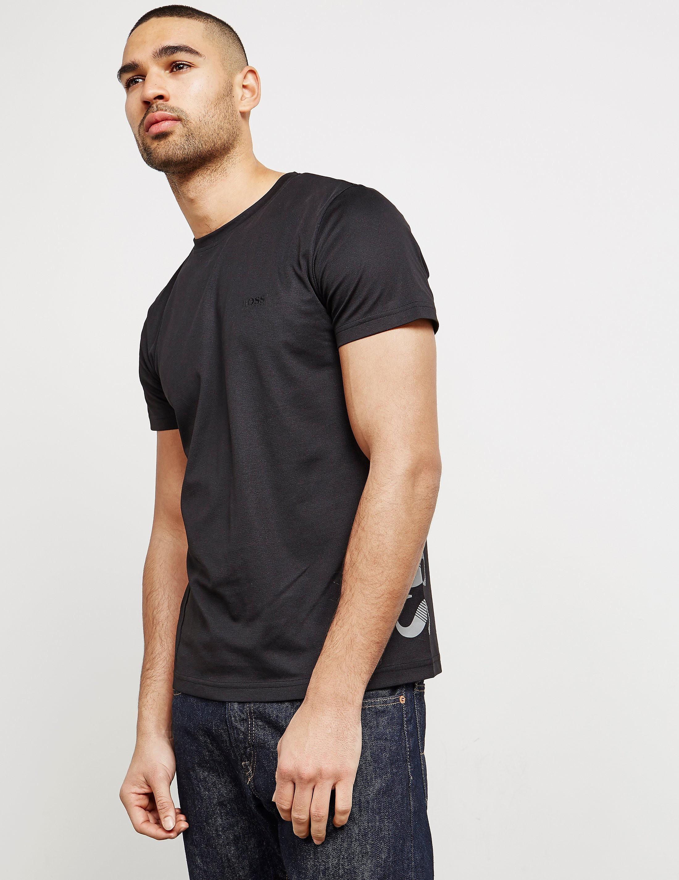 BOSS Green Side Logo Short Sleeve T-Shirt