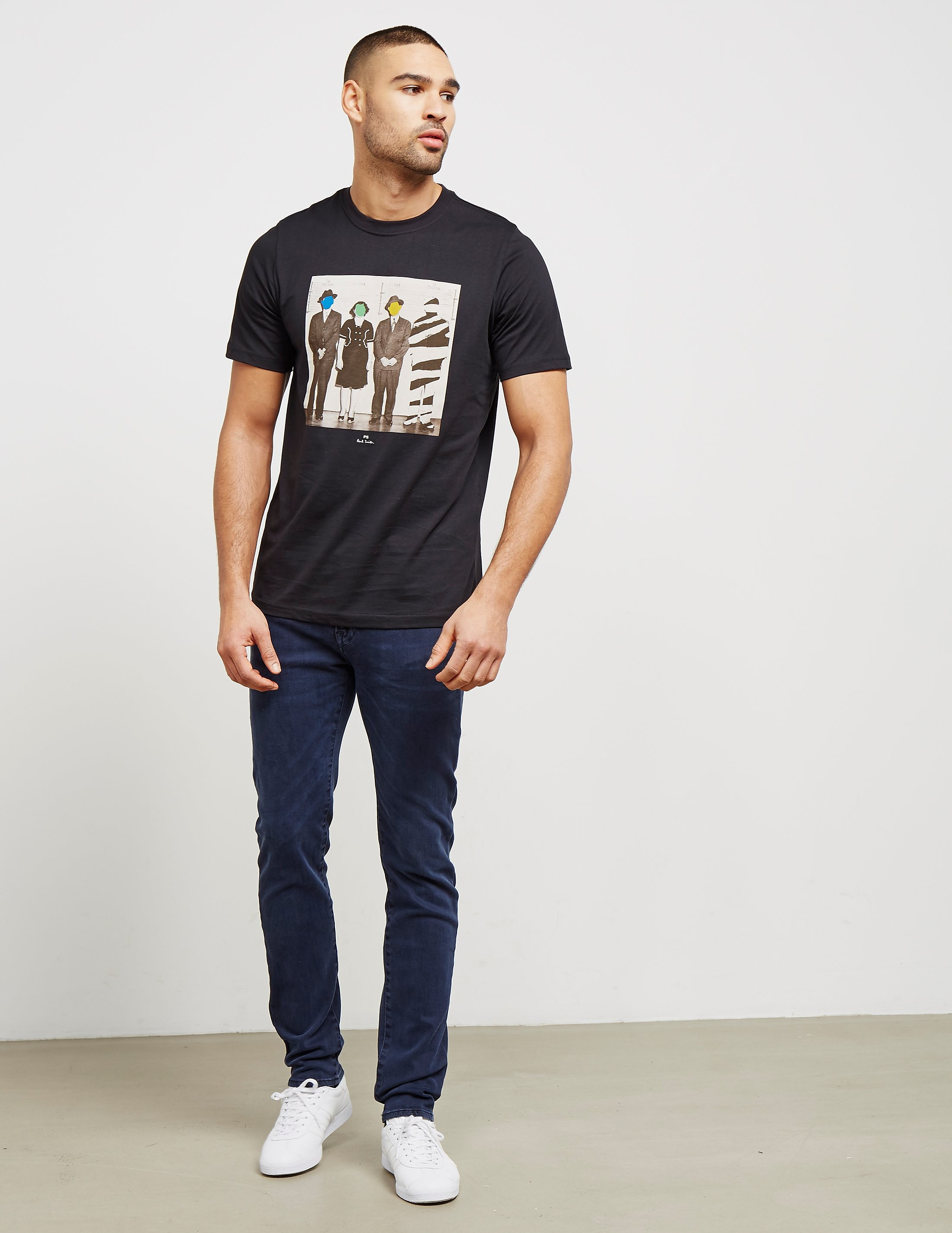PS Paul Smith Line-Up Short Sleeve T-Shirt