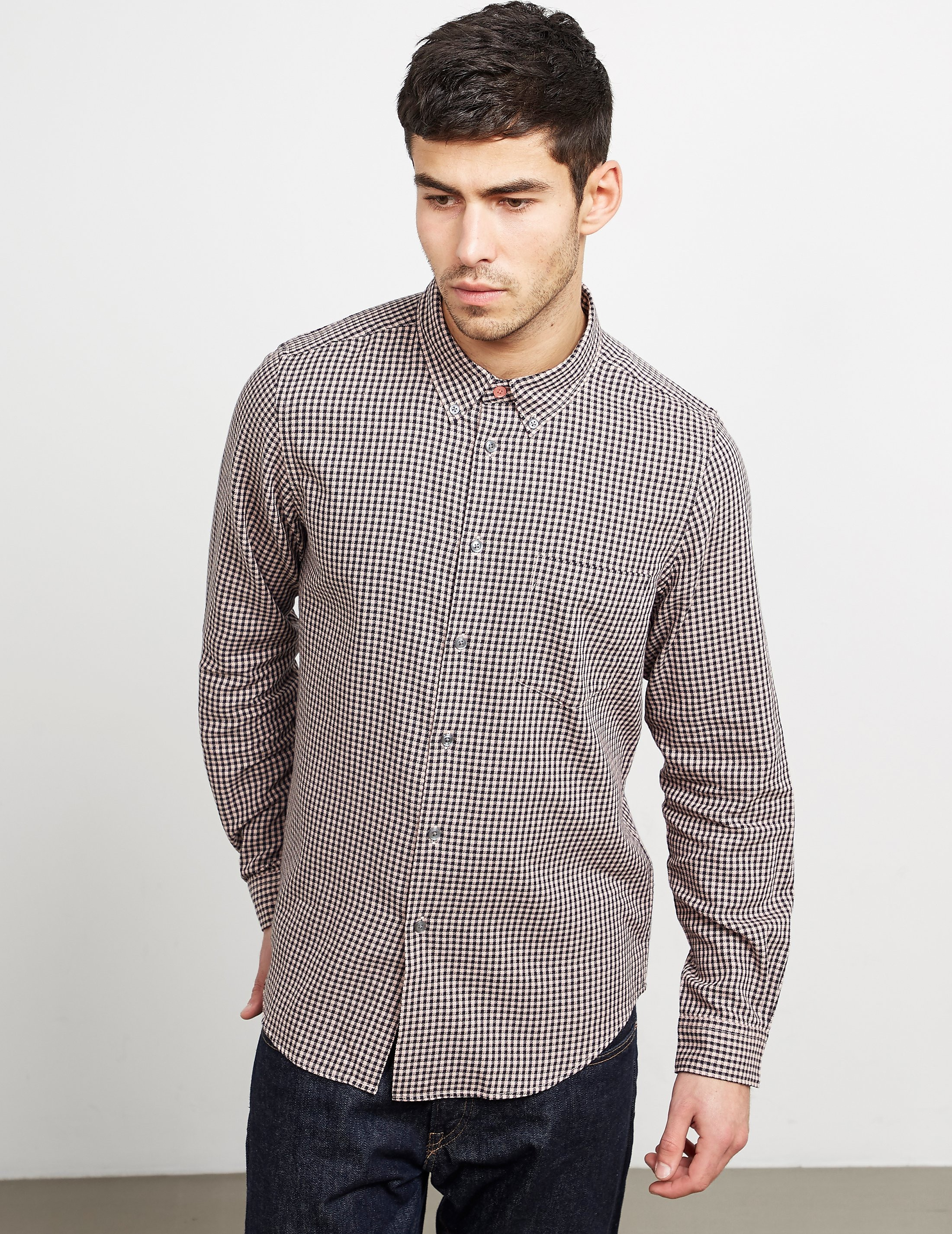 Paul Smith Gingham Long Sleeve Shirt
