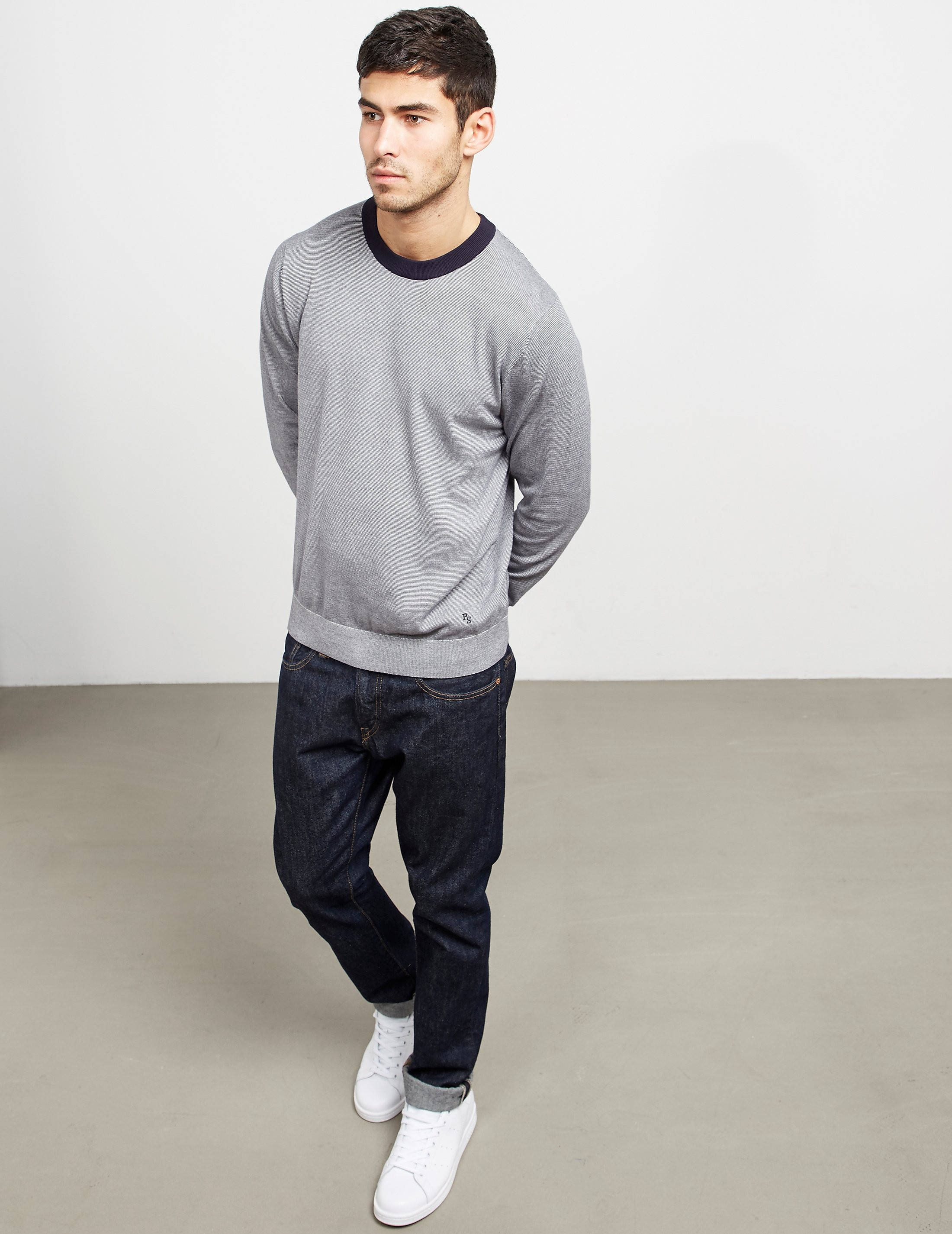 Paul Smith Fine Stripe Knitted Jumper