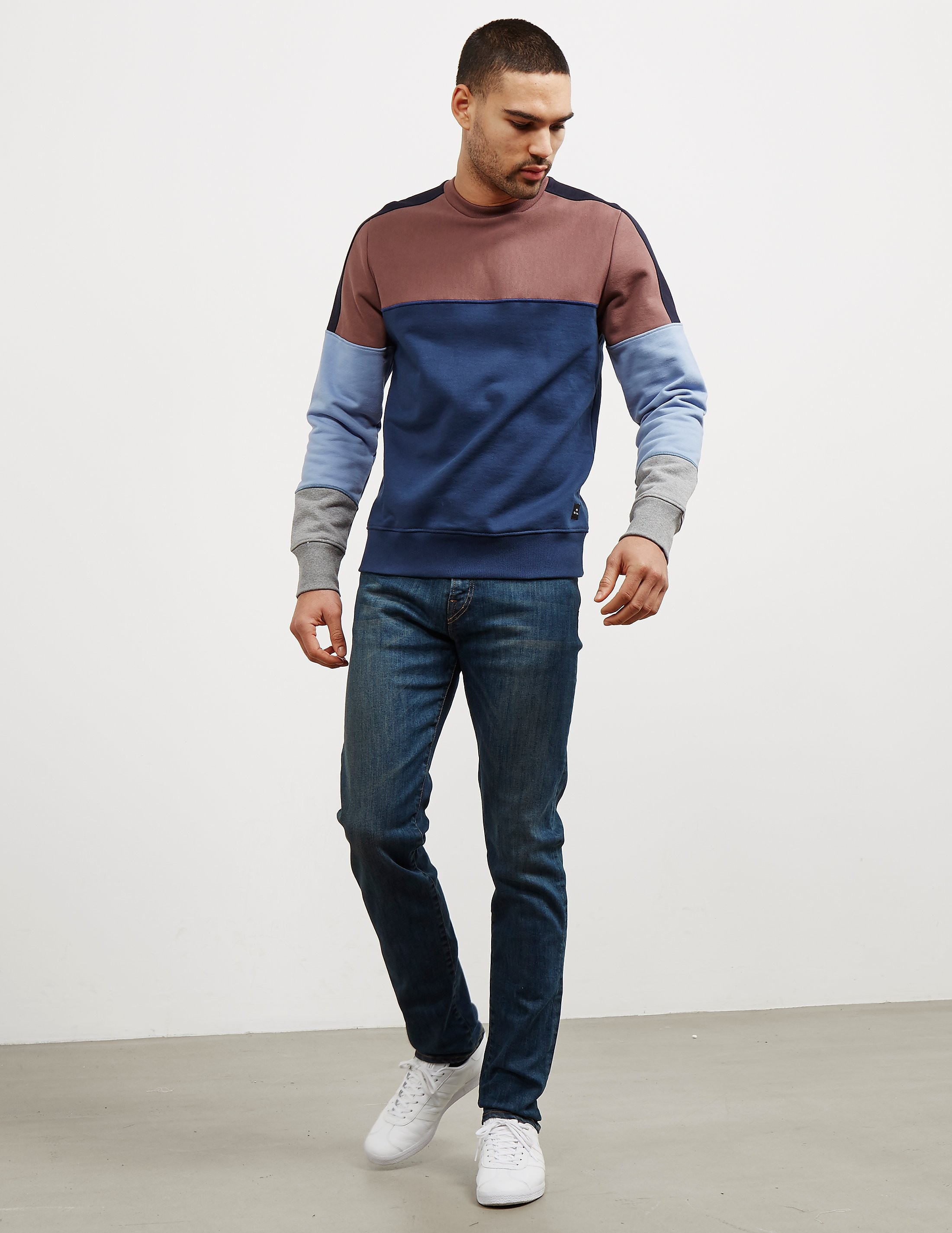 PS Paul Smith Tapered Reflex Stretch Jeans