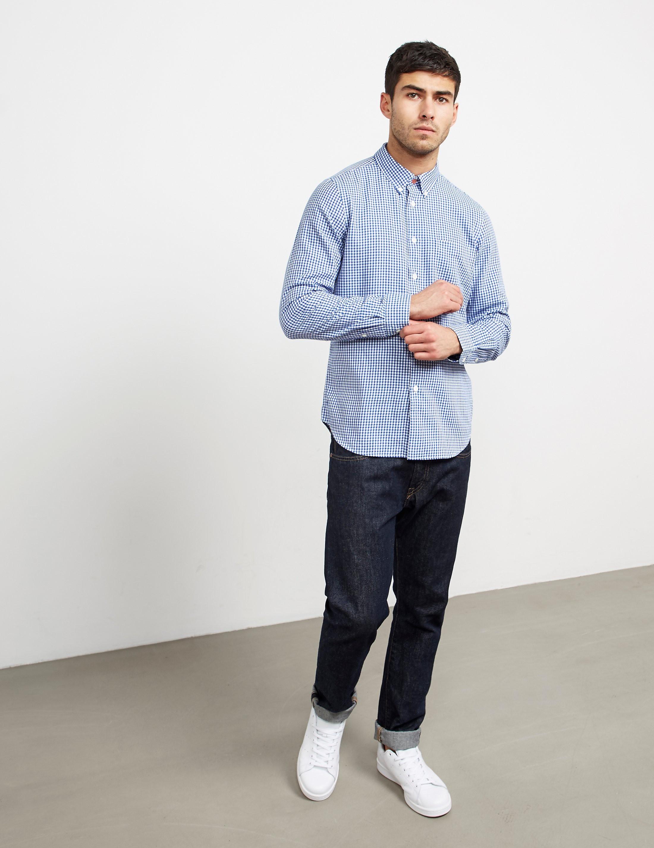 Paul Smith Gingham Long Sleeve Shirt