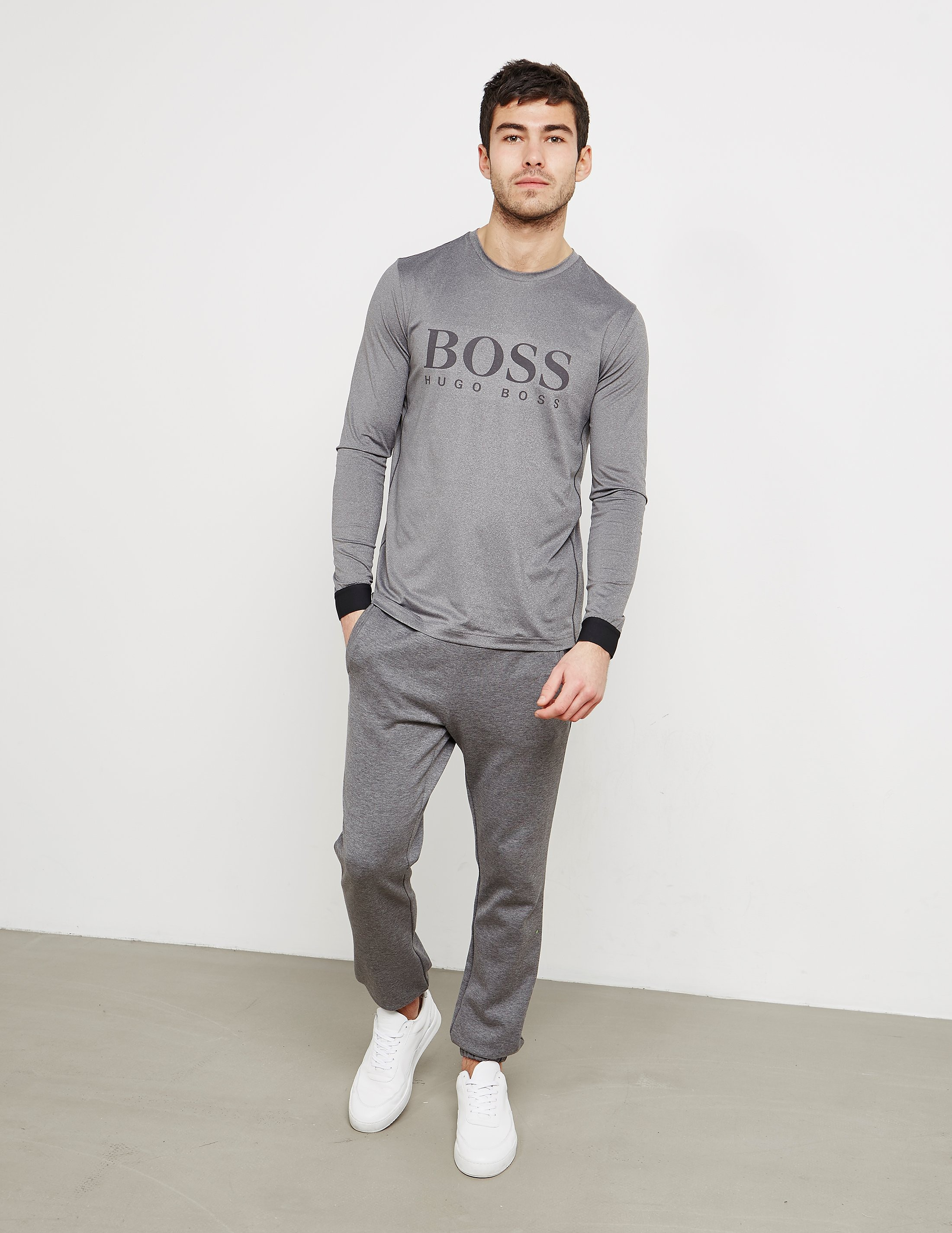 BOSS Green Tinotec Long Sleeve T-Shirt
