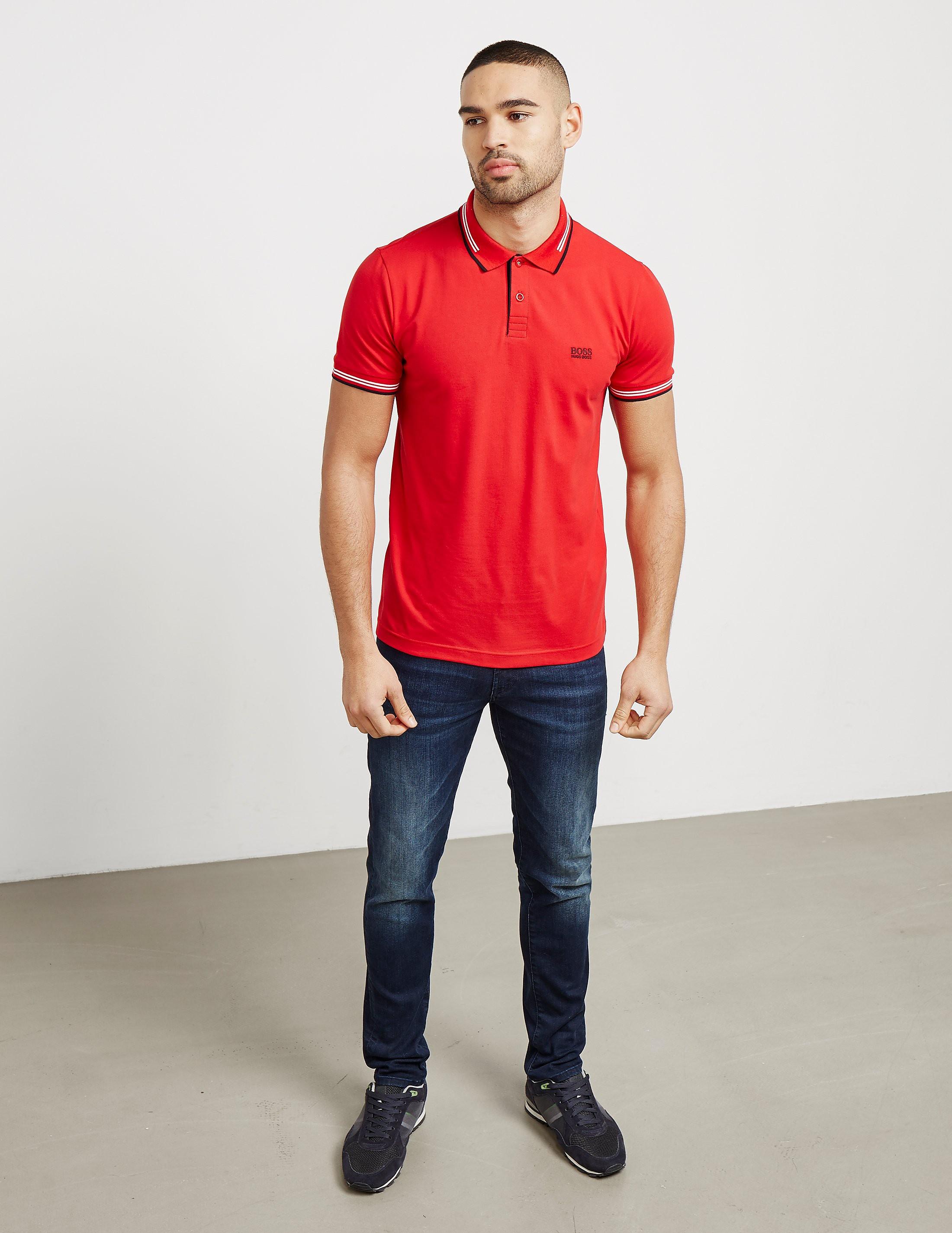 BOSS Green Paul Short Sleeve Polo Shirt