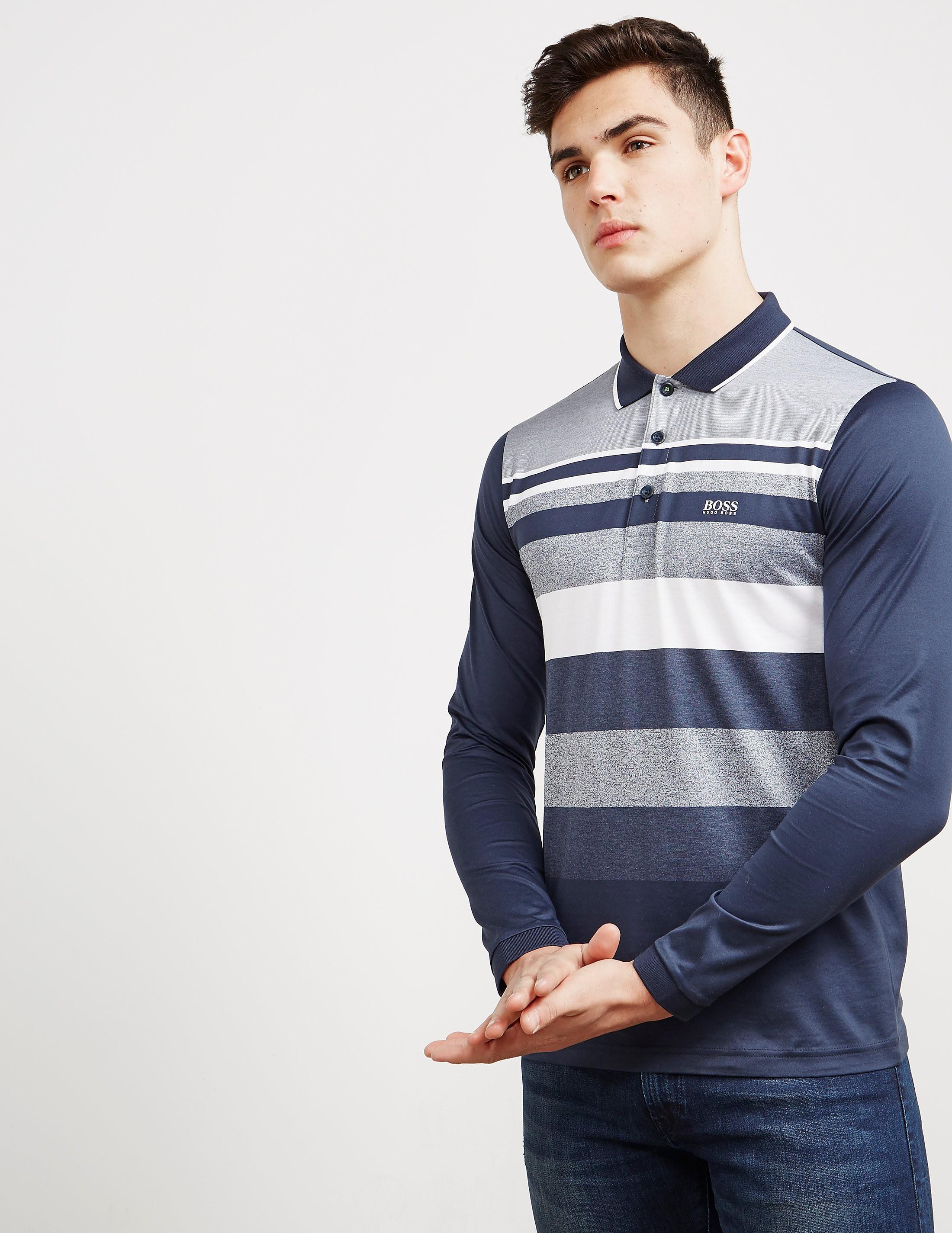 BOSS Green Plisy1 Long Sleeve Polo Shirt