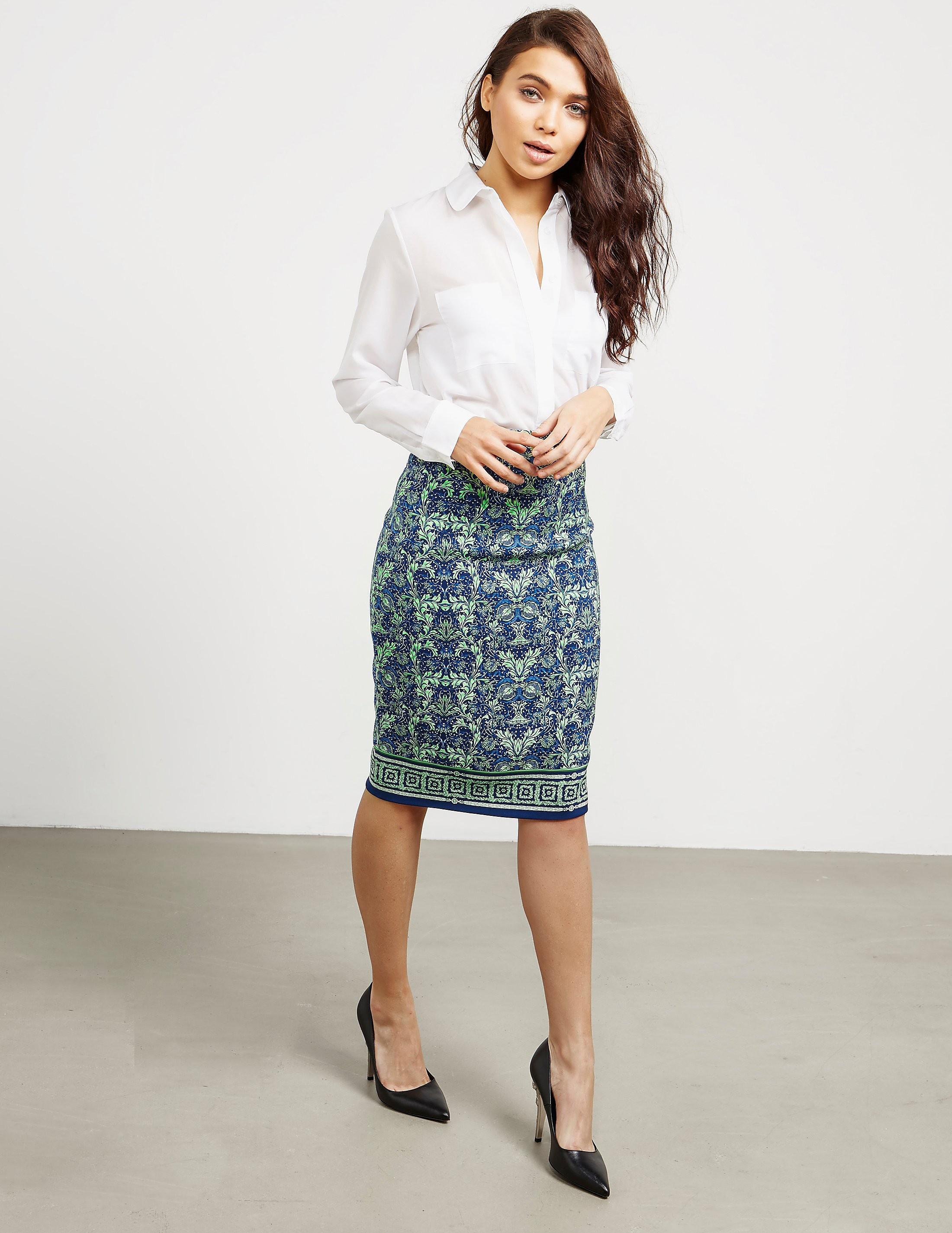 Versace Printed Skirt