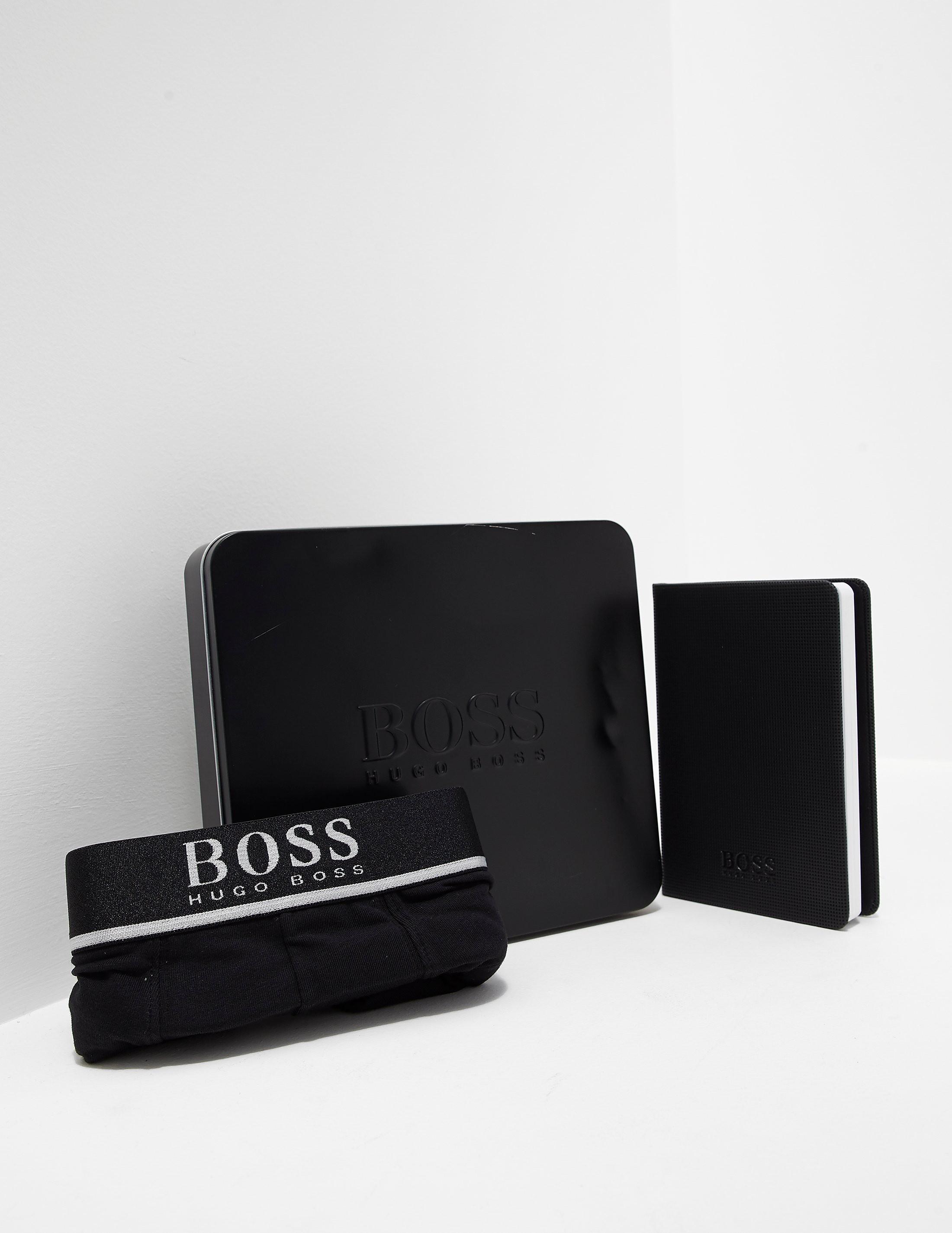 BOSS Boxer Shorts and Note Pad Gift Set