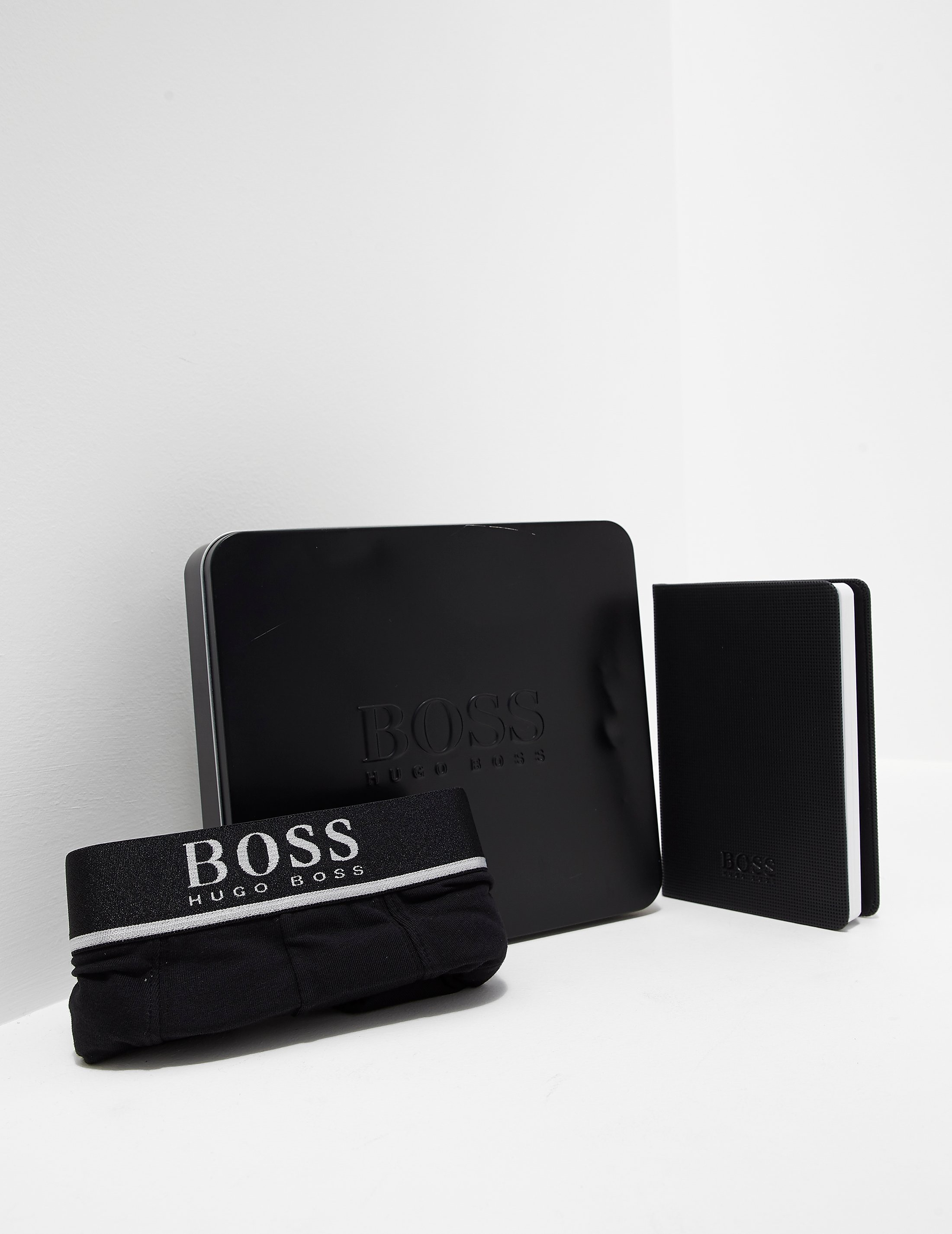 BOSS Boxer Shorts and Note Pad Gift Set