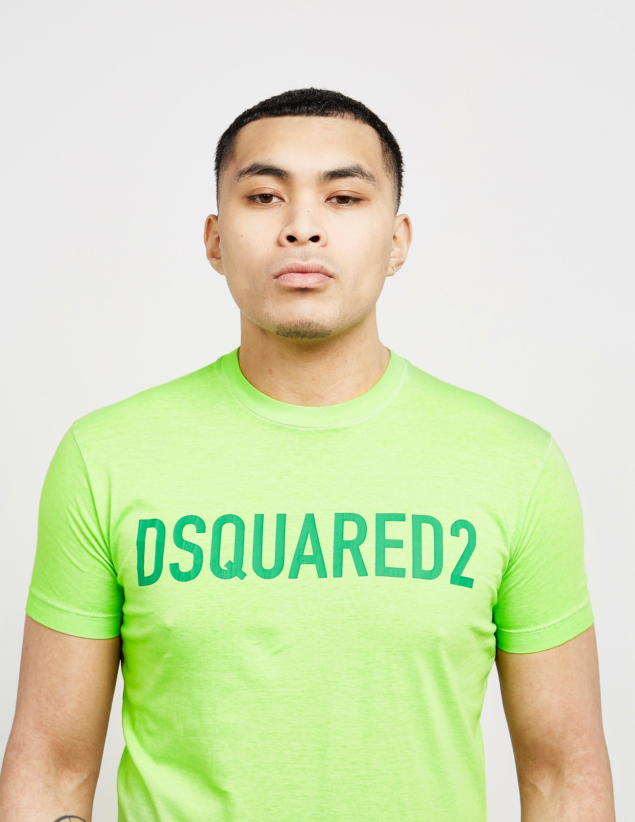 DSQUARED2 Text Logo Short Sleeve T-Shirt
