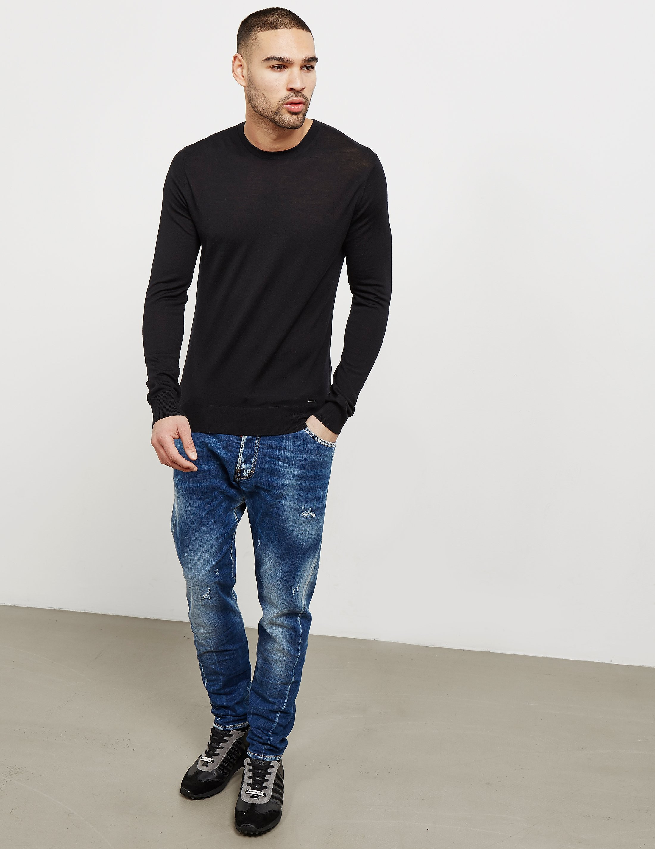 Dsquared2 Crew Knitted Jumper - Online Exclusive