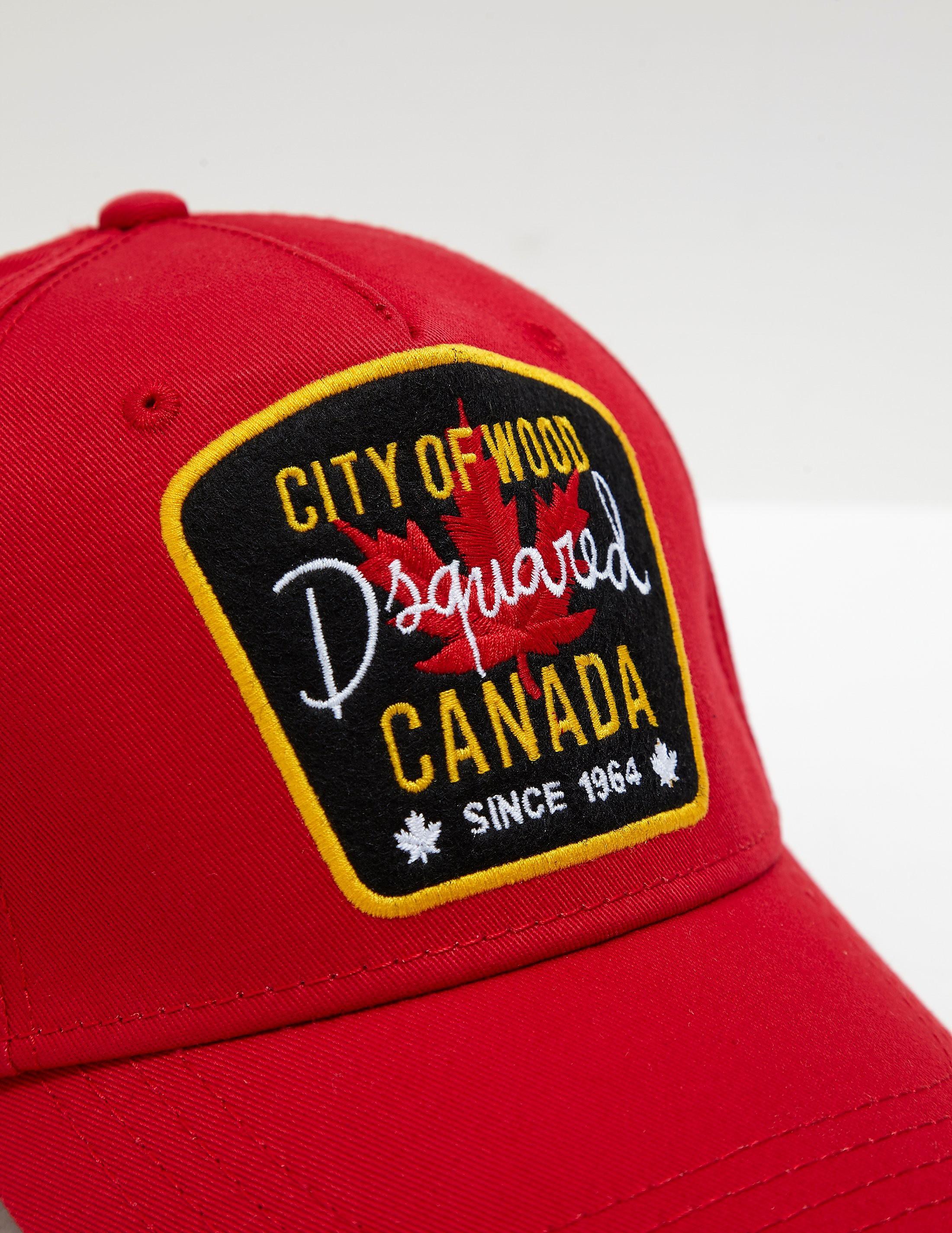 DSQUARED2 Maple Patch Cap