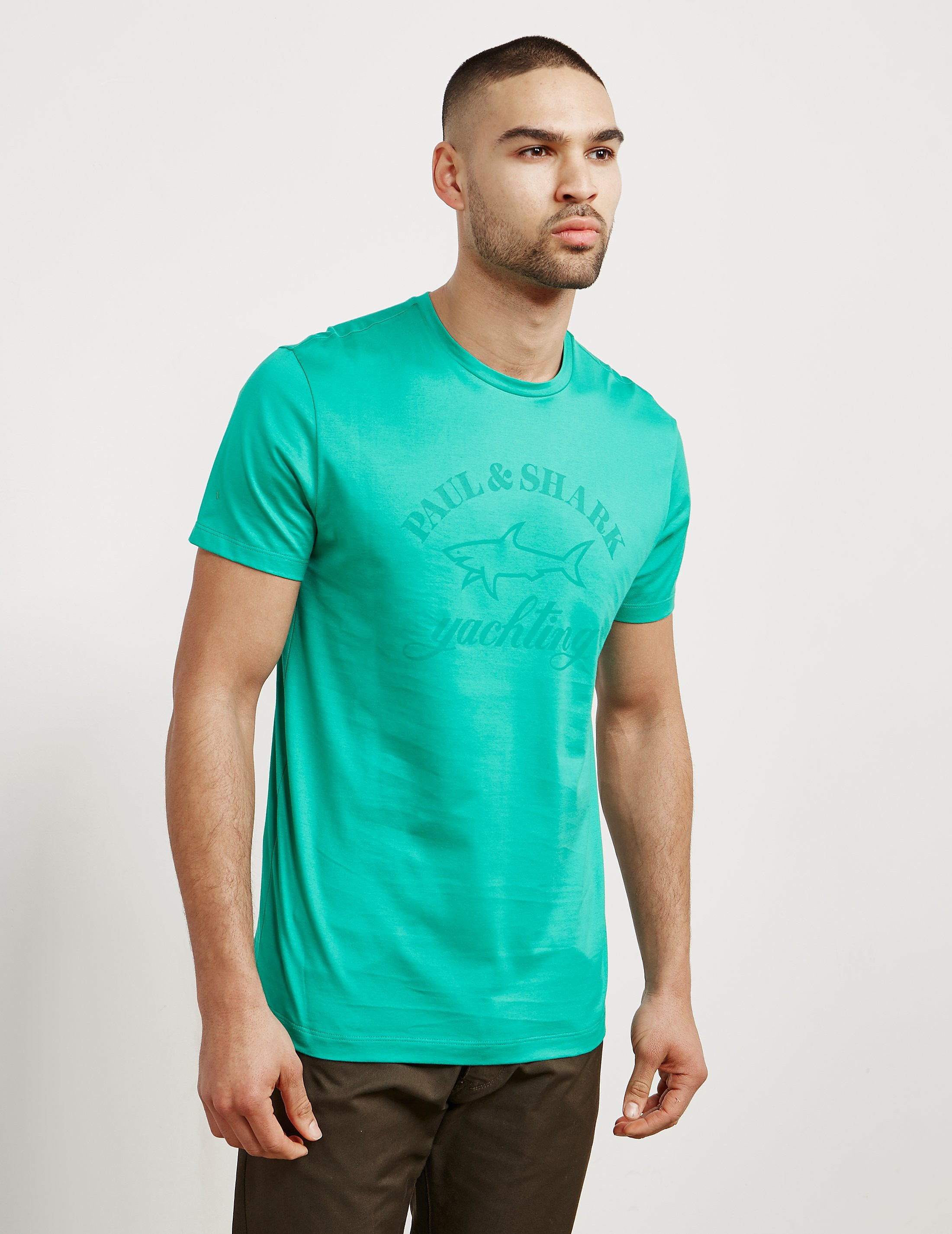 Paul and Shark Short Sleeve Tonal Logo T-Shirt