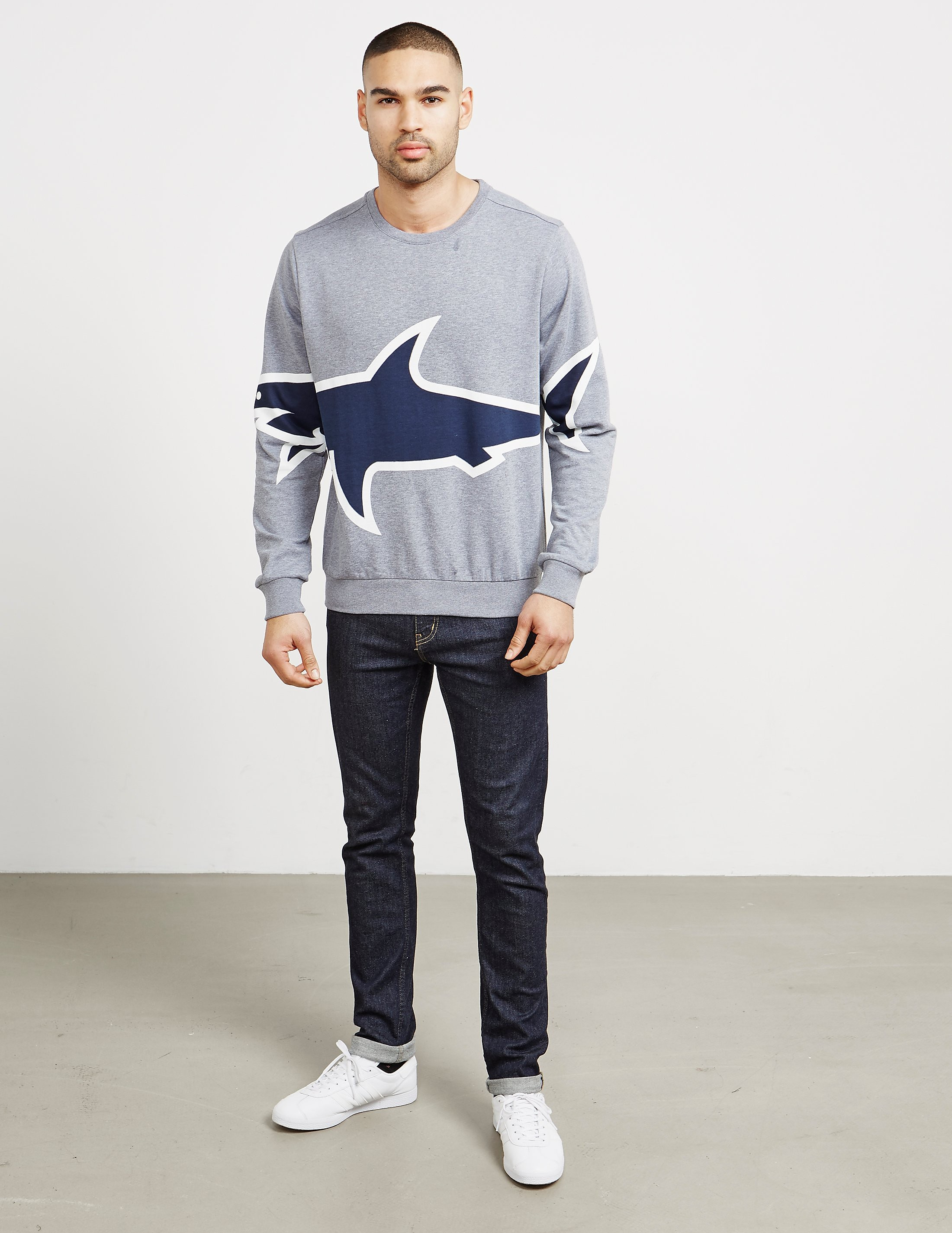 Paul and Shark Oversized Shark Sweatshirt