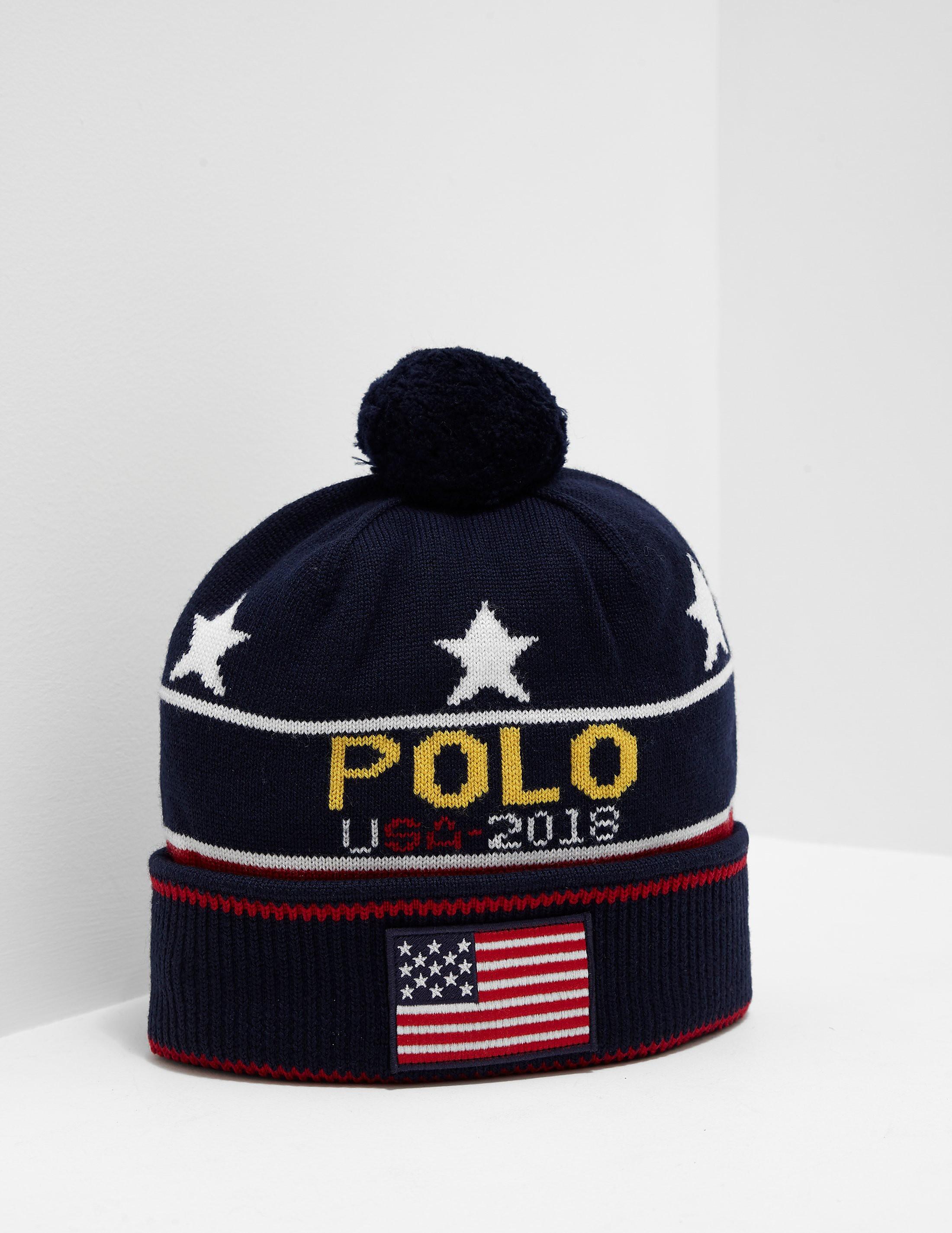 Polo Ralph Lauren Star and Stripe Beanie