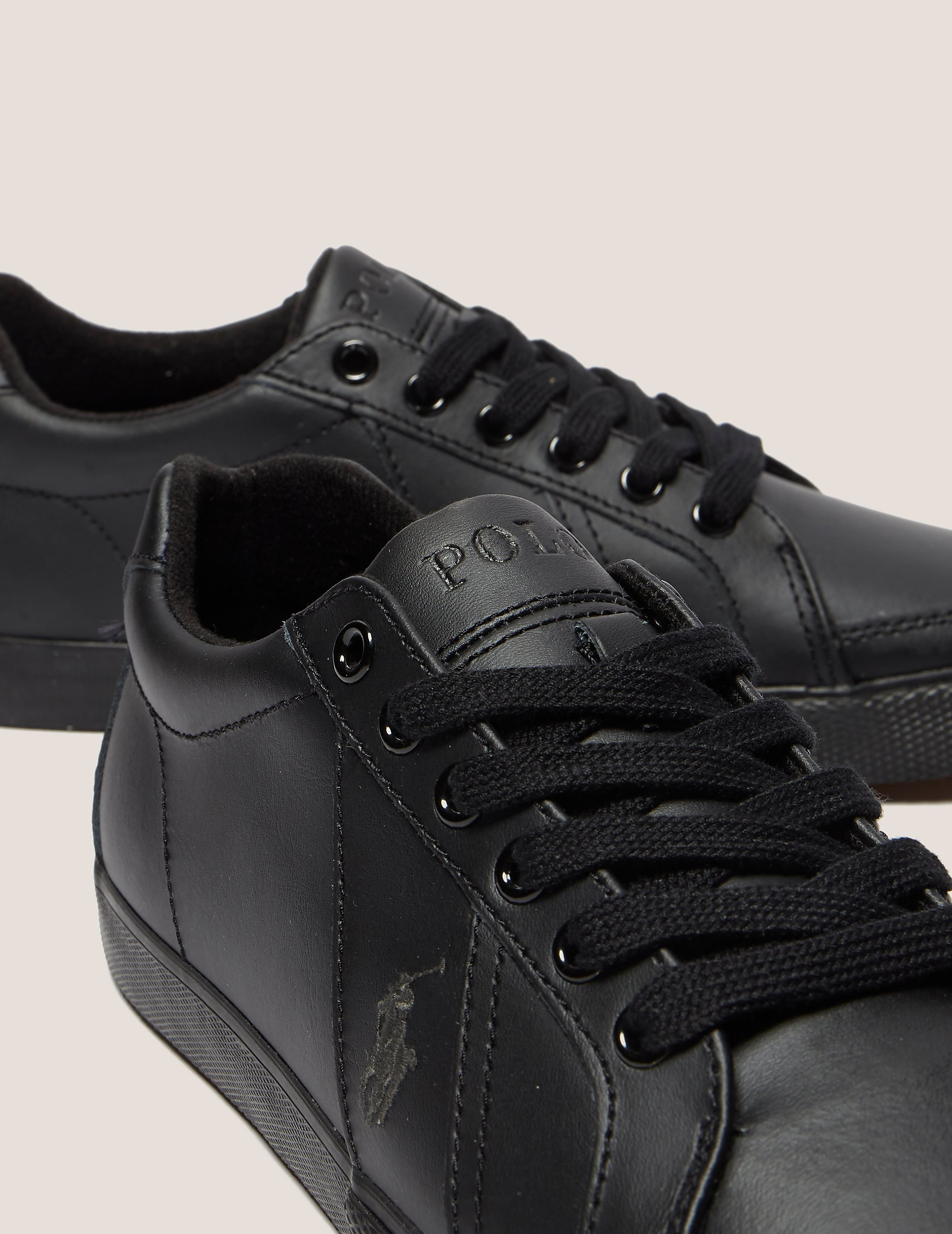 Polo Ralph Lauren Hugh Black Trainer