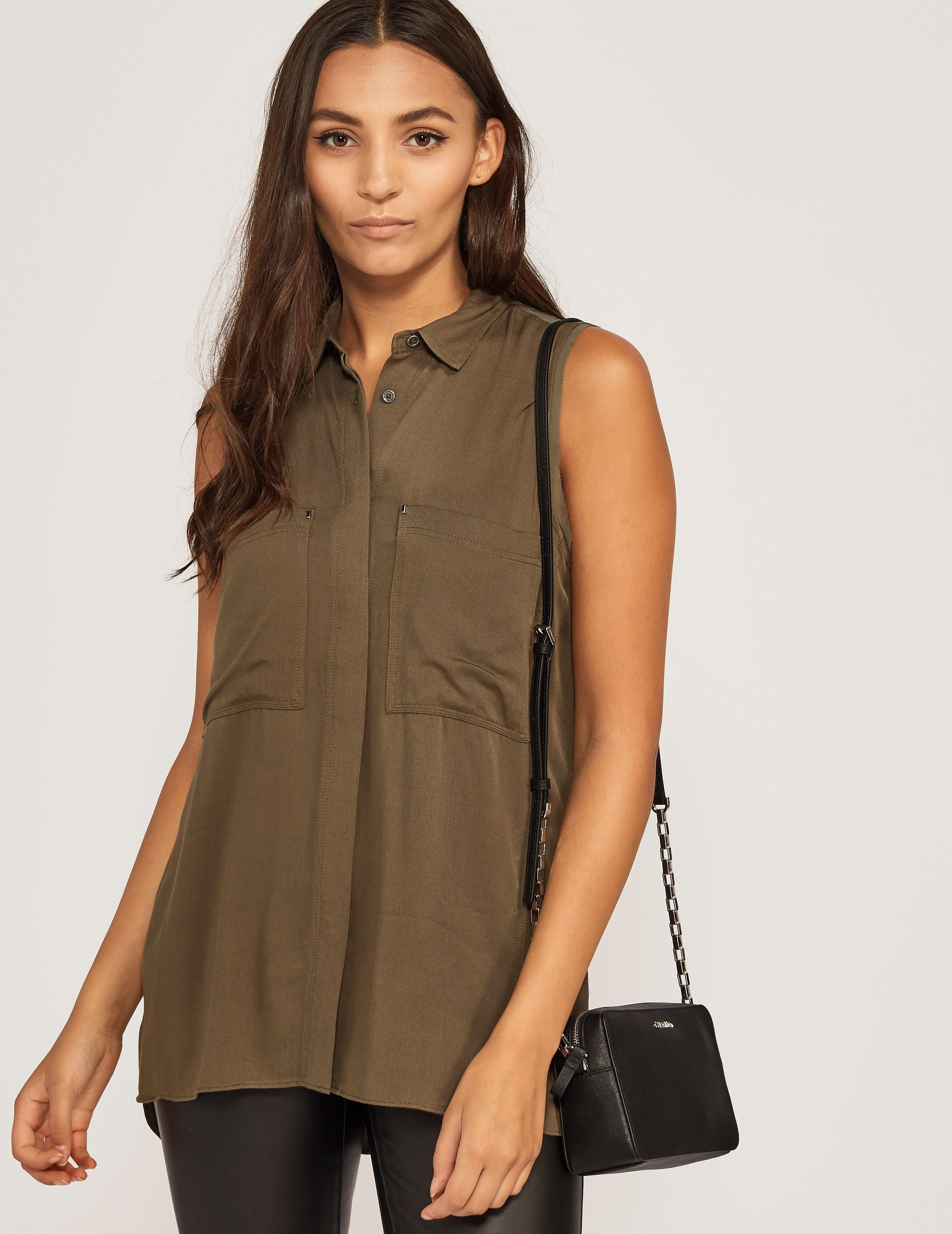 Calvin Klein Eve Sleevless Shirt