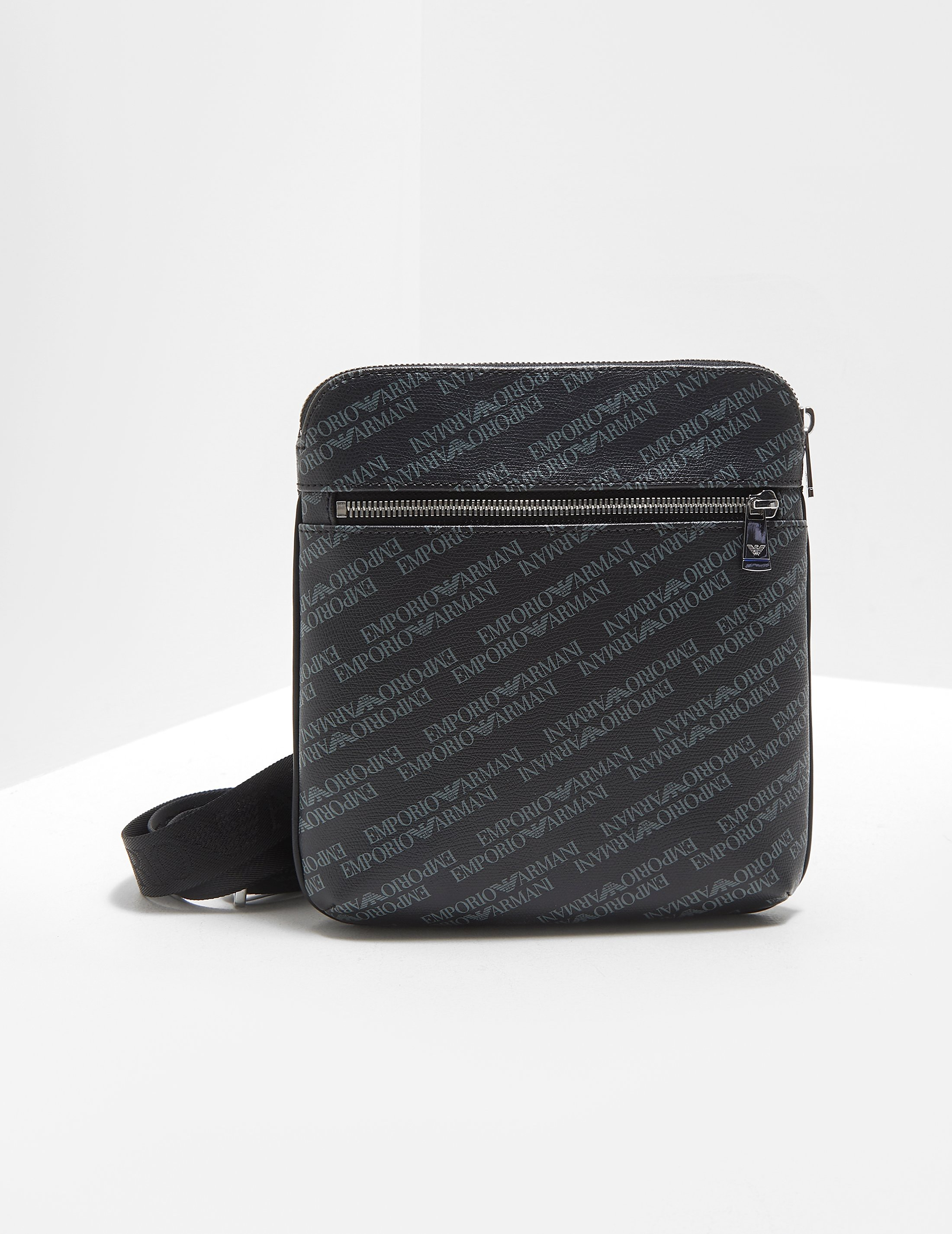 Armani Jeans All Over Logo Small Item Bag