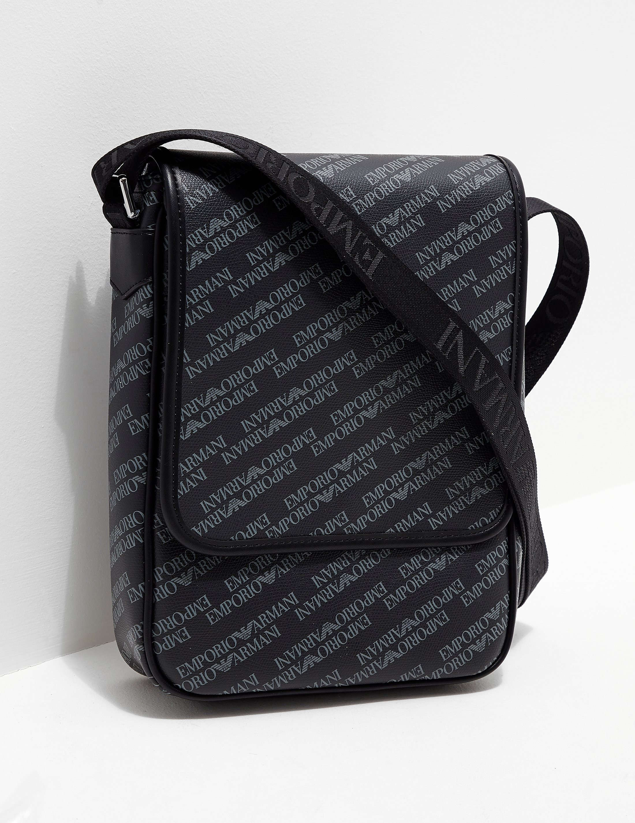 Emporio Armani All Over Print Small Item Bag