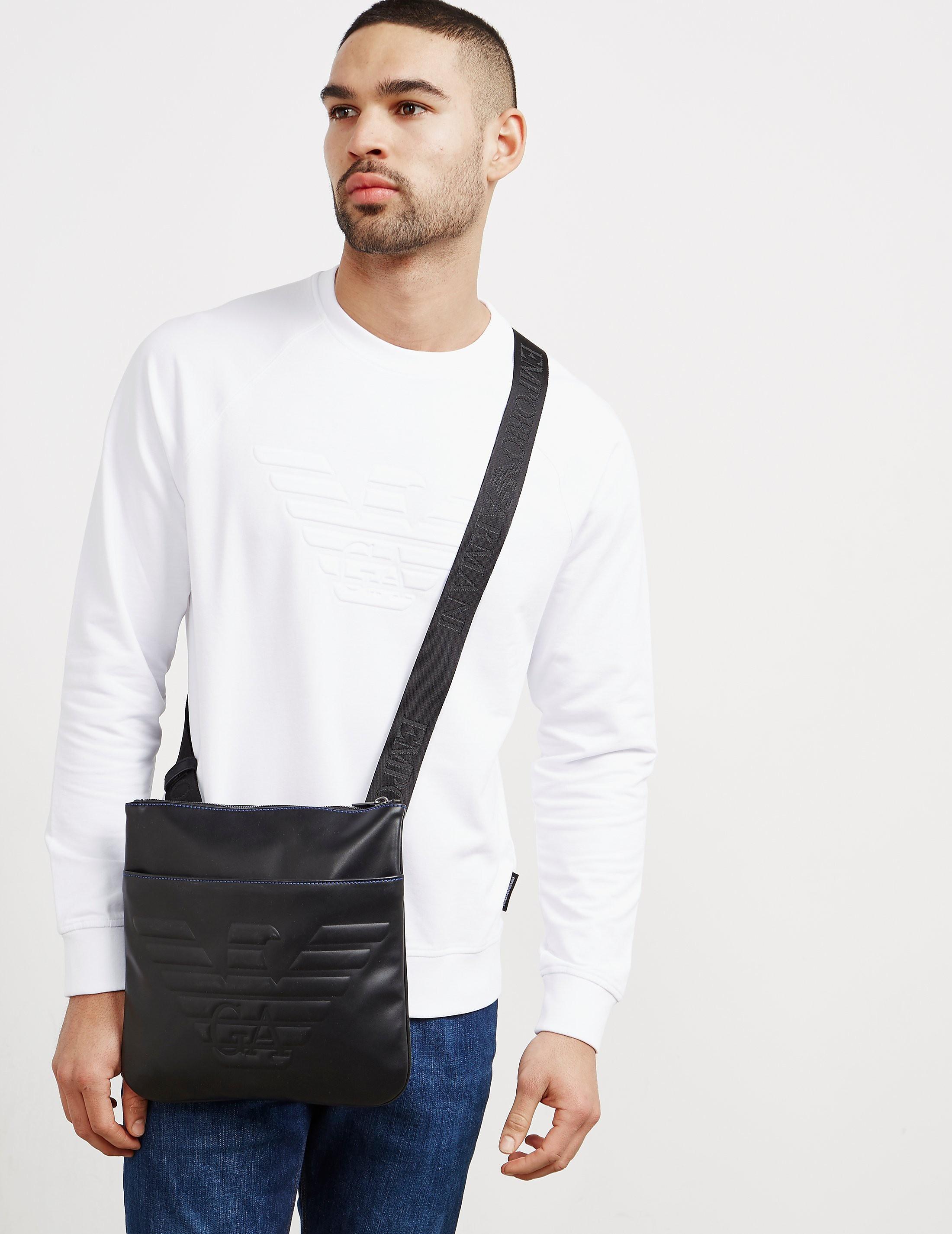 Emporio Armani Eagle Small Item Bag