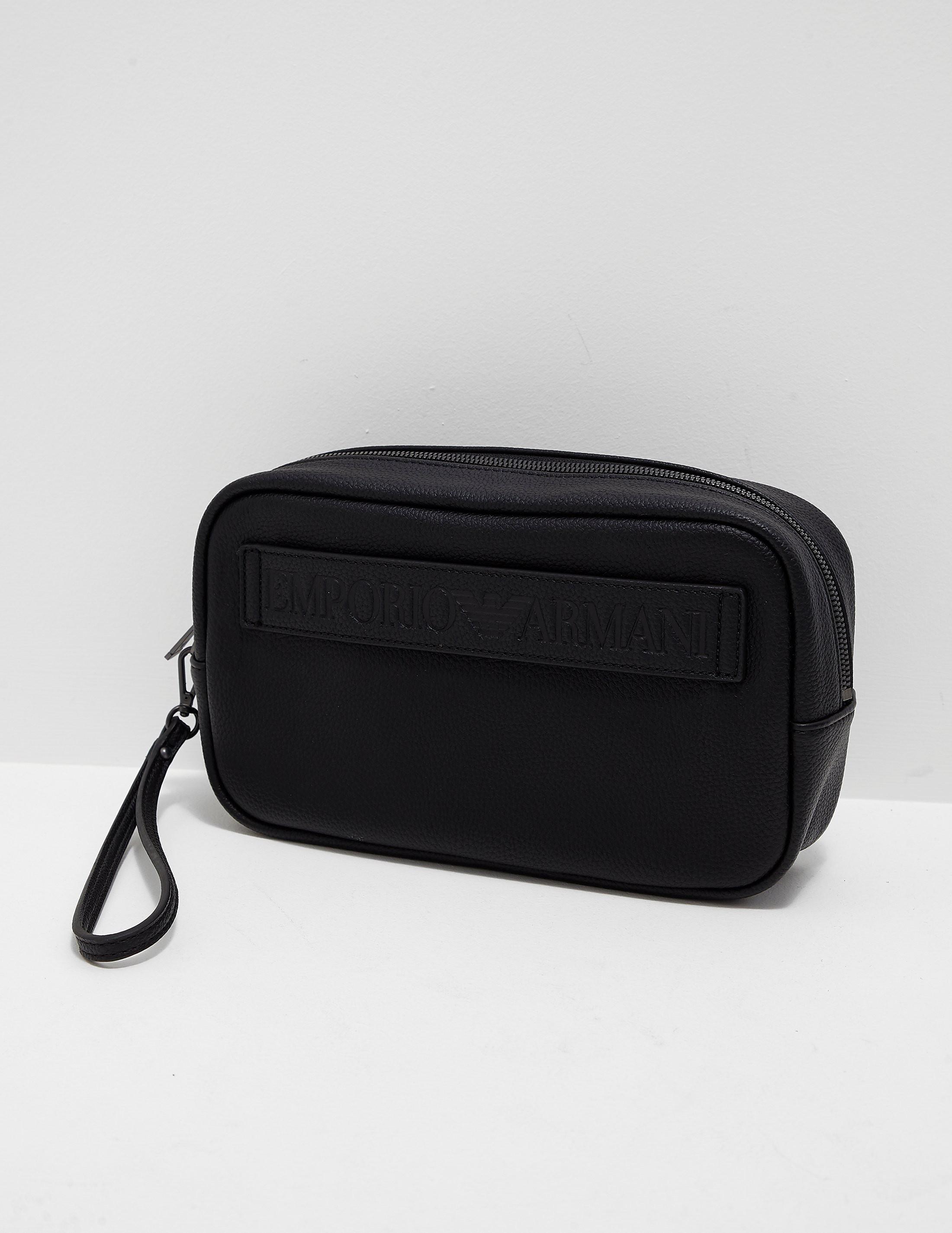 Emporio Armani Granato Wash Bag