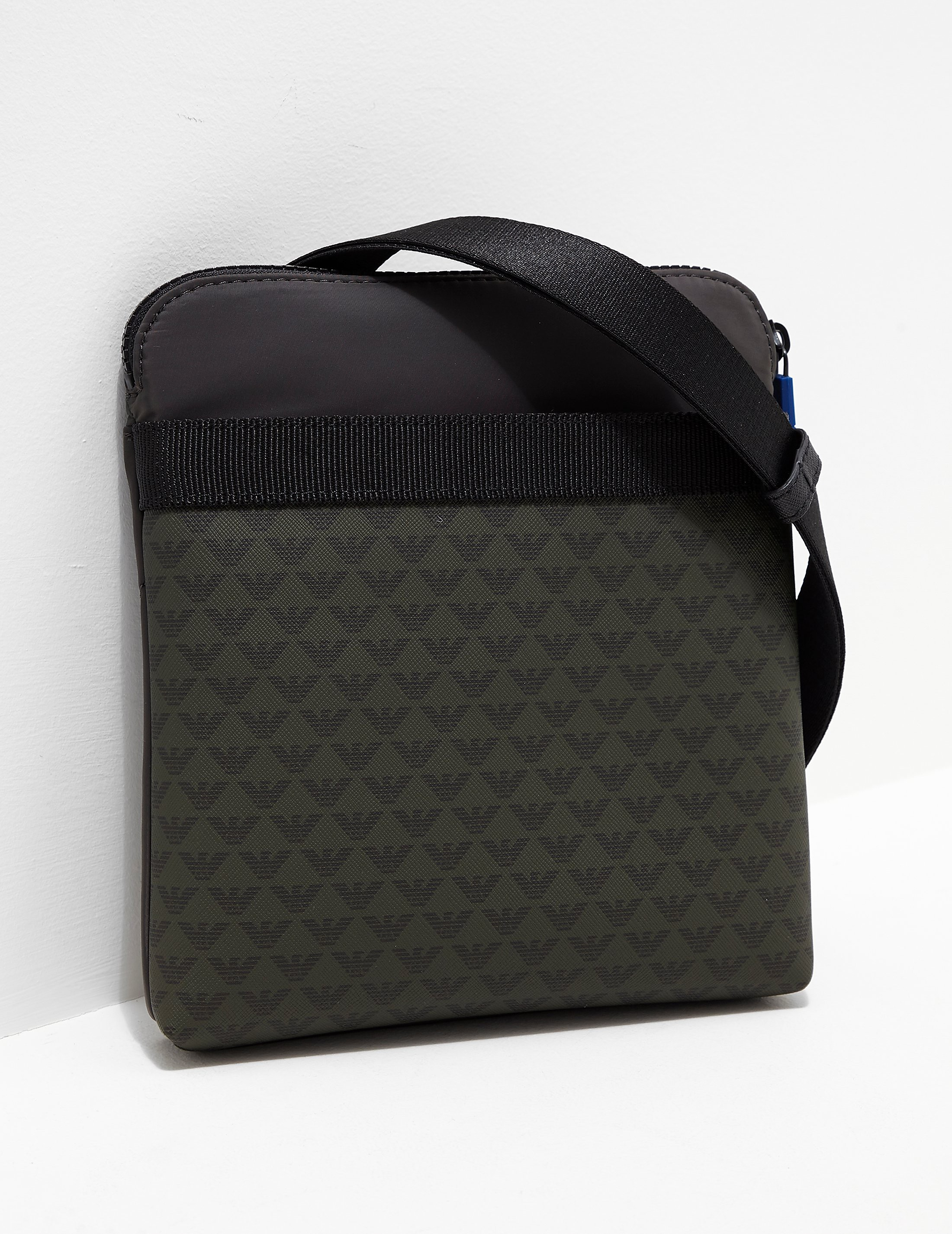Emporio Armani All Over Eagle Small Item Bag