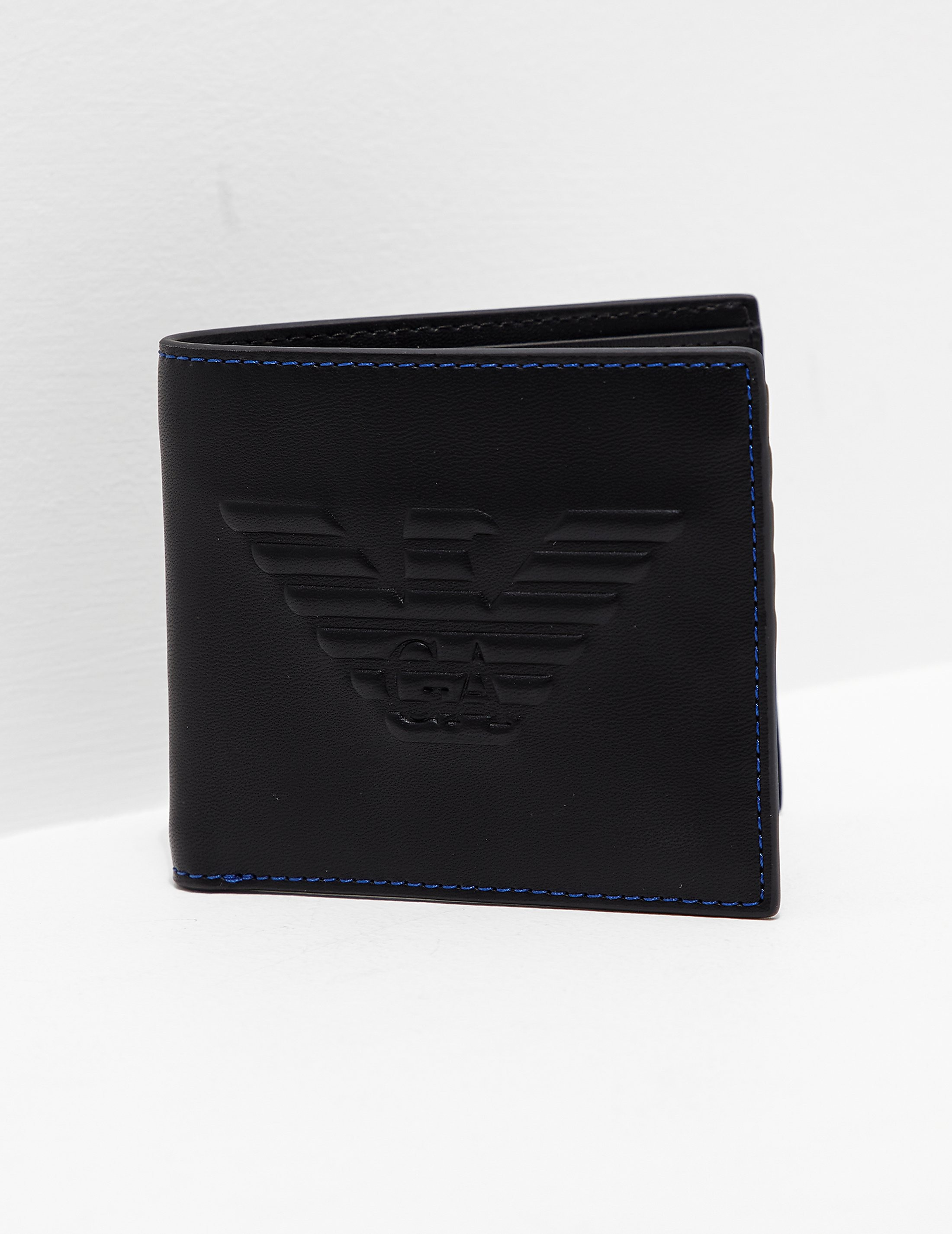 Card Holder for Women On Sale, Dark Steel, Leather, 2017, One size Armani Jeans