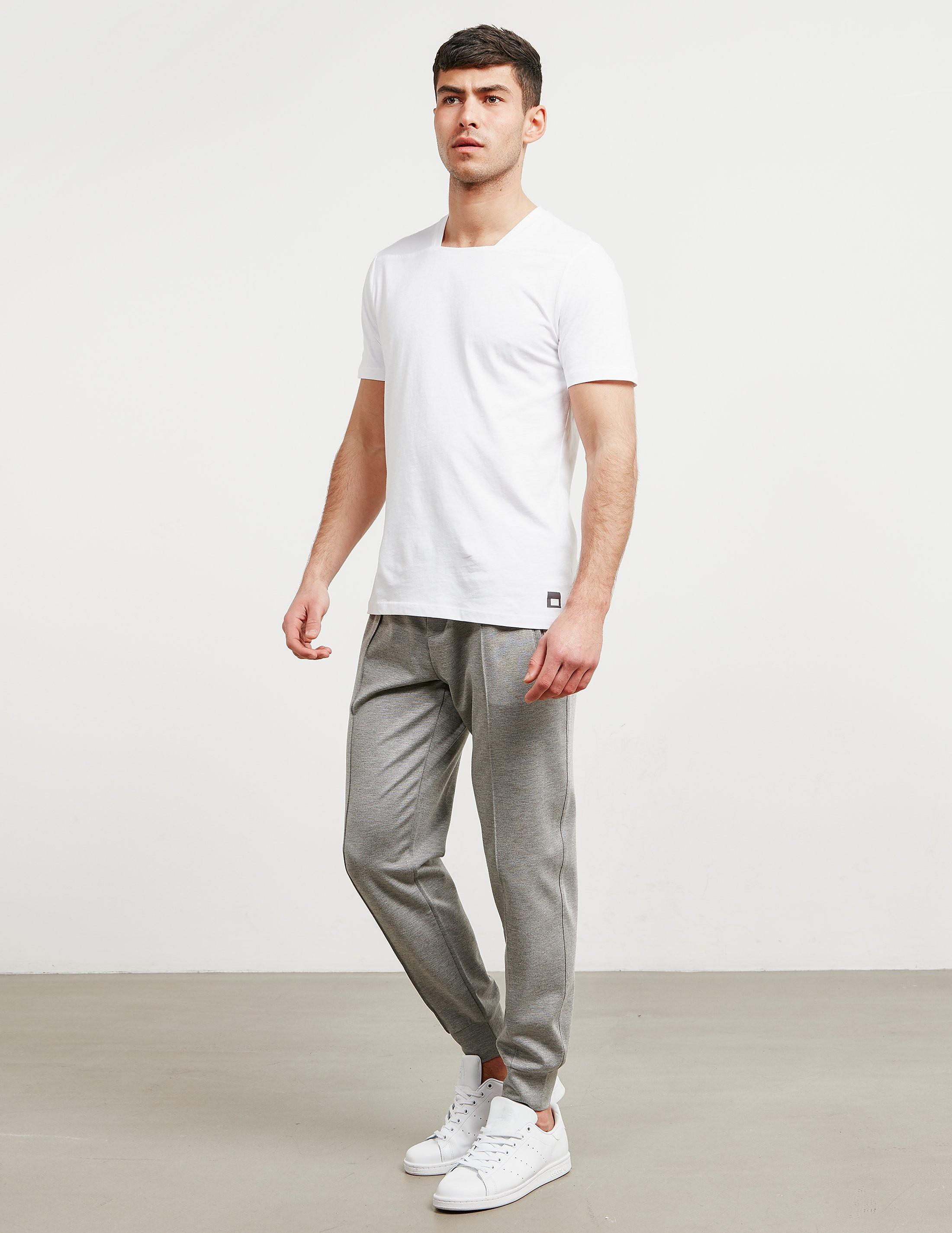 Pal Zileri Square Neck Short Sleeve T-Shirt