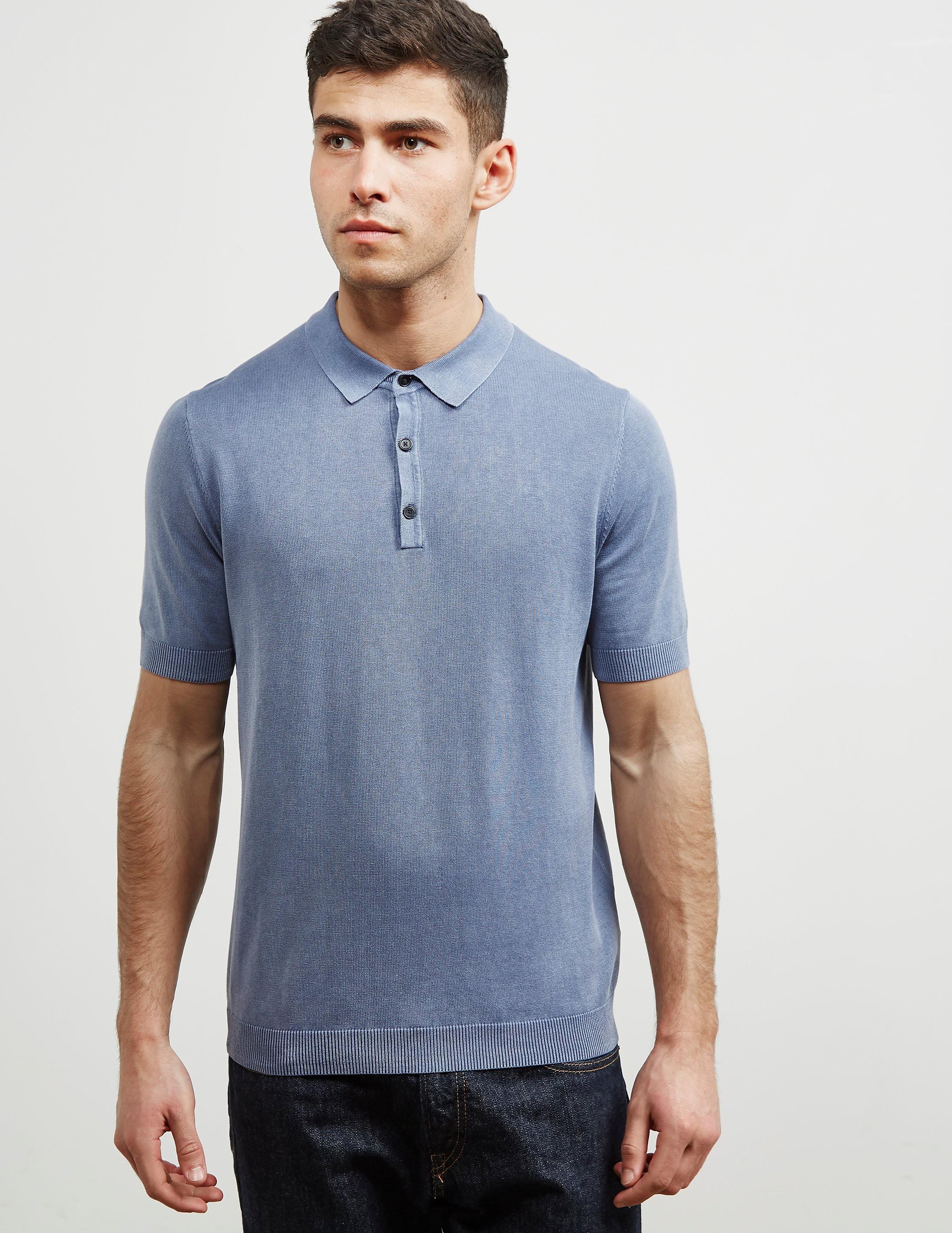 Pal Zileri Short Sleeve Polo Shirt