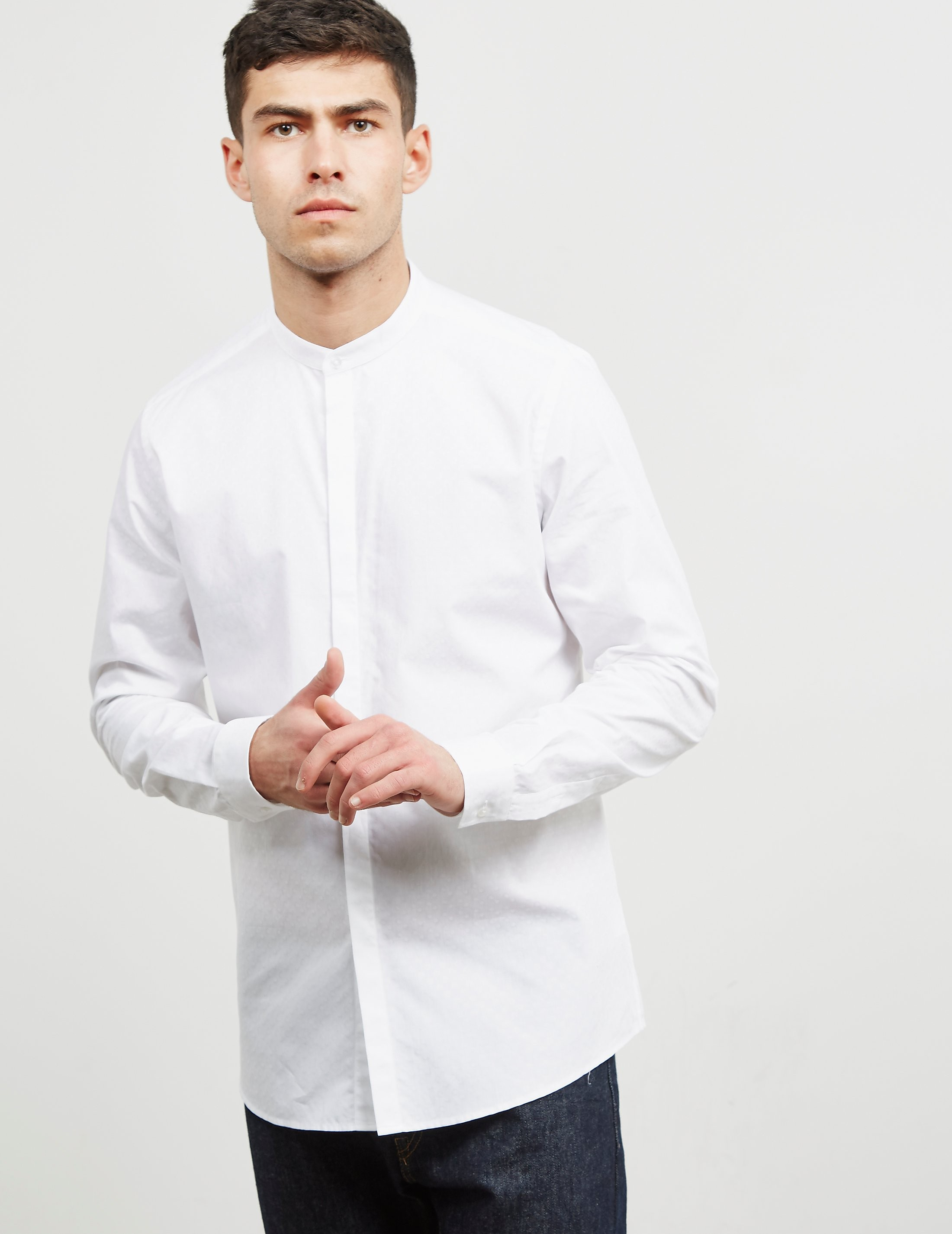 Pal Zileri Tonal Print Long Sleeve Shirt