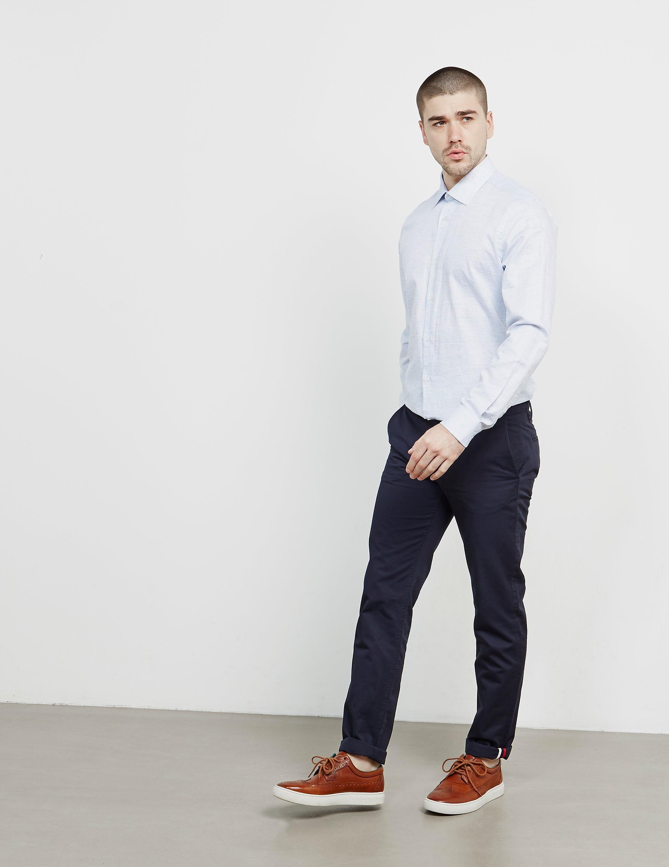 Pal Zileri Grandad Long Sleeve Shirt
