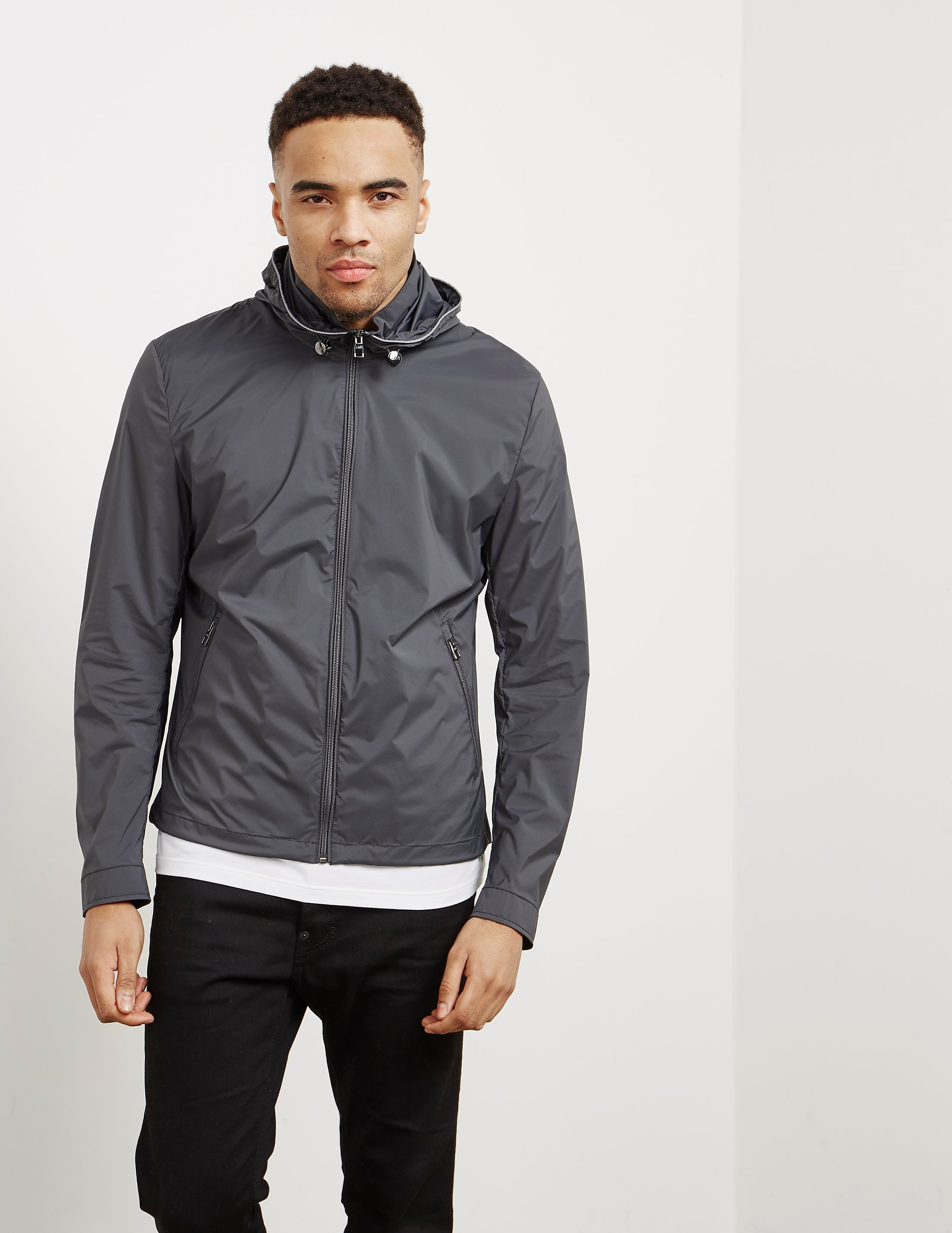 Pal Zileri Trim Hooded Jacket