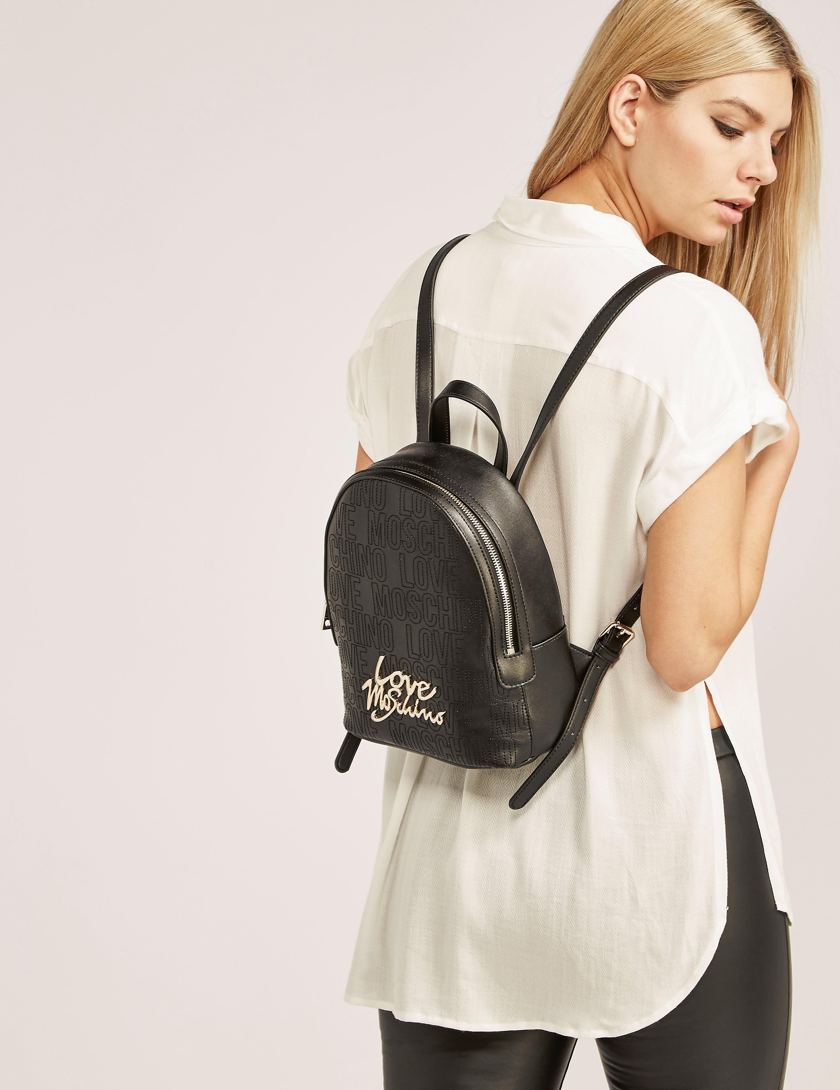 Love Moschino Micro Logo Backpack